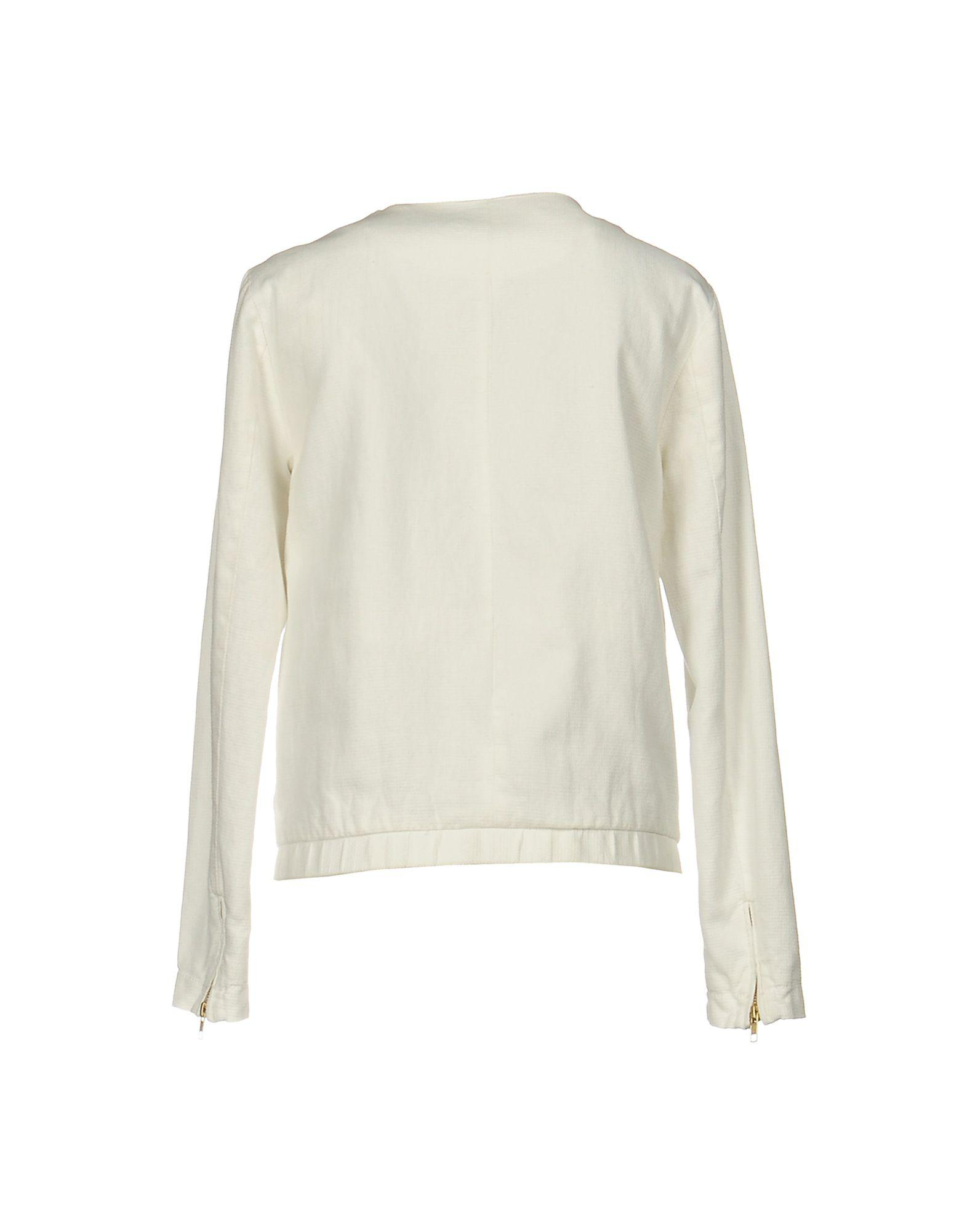 Pepe Jeans Cotton Jacket in White