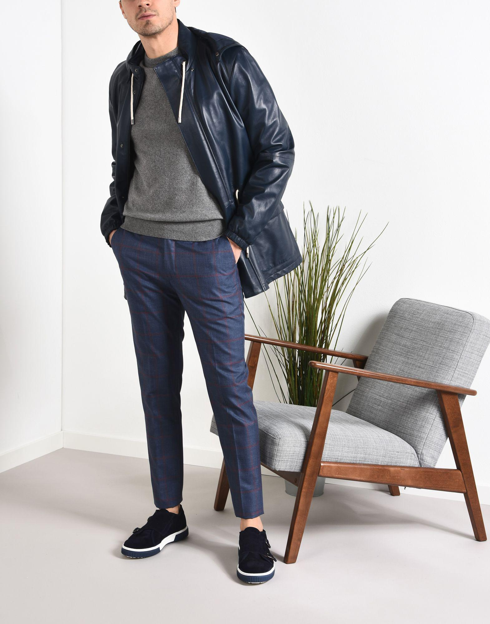 8 Synthetic Casual Pants in Dark Blue (Blue) for Men