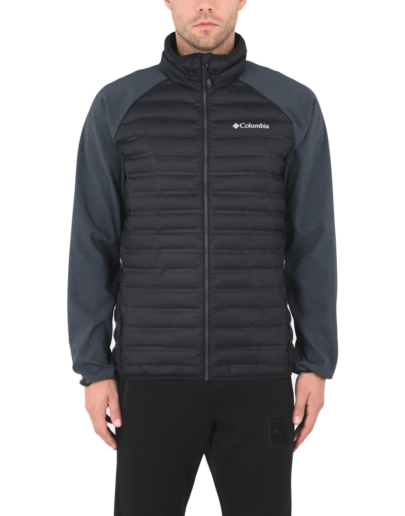 Columbia Synthetic Down Jacket in Black for Men