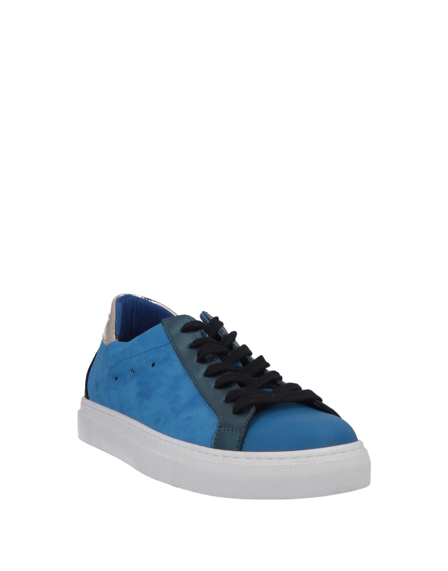 Sneakers & Deportivas Quattrobarradodici de Cuero de color Azul para hombre