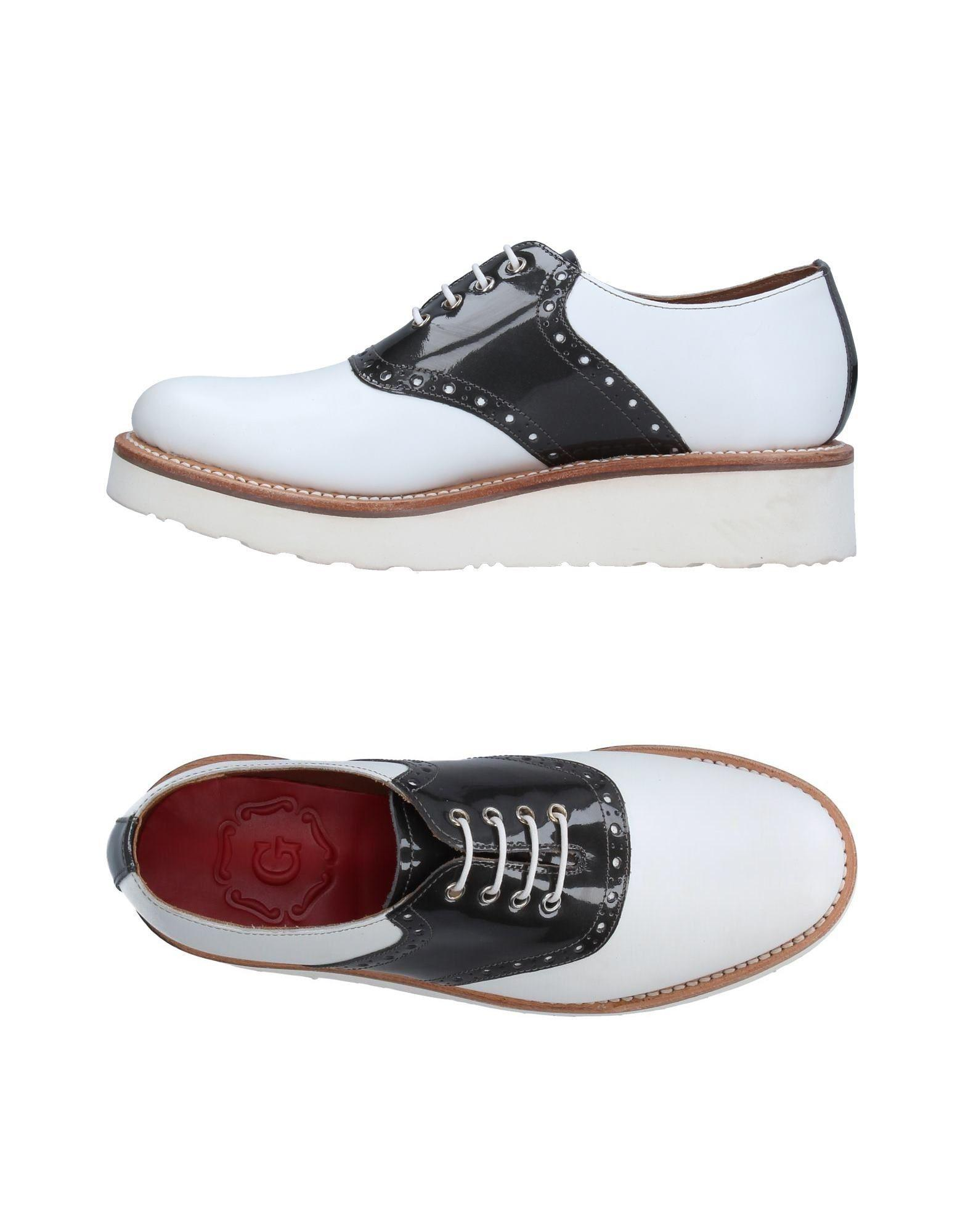 36d0bf7cc9c Grenson Lace-up Shoe in White - Lyst