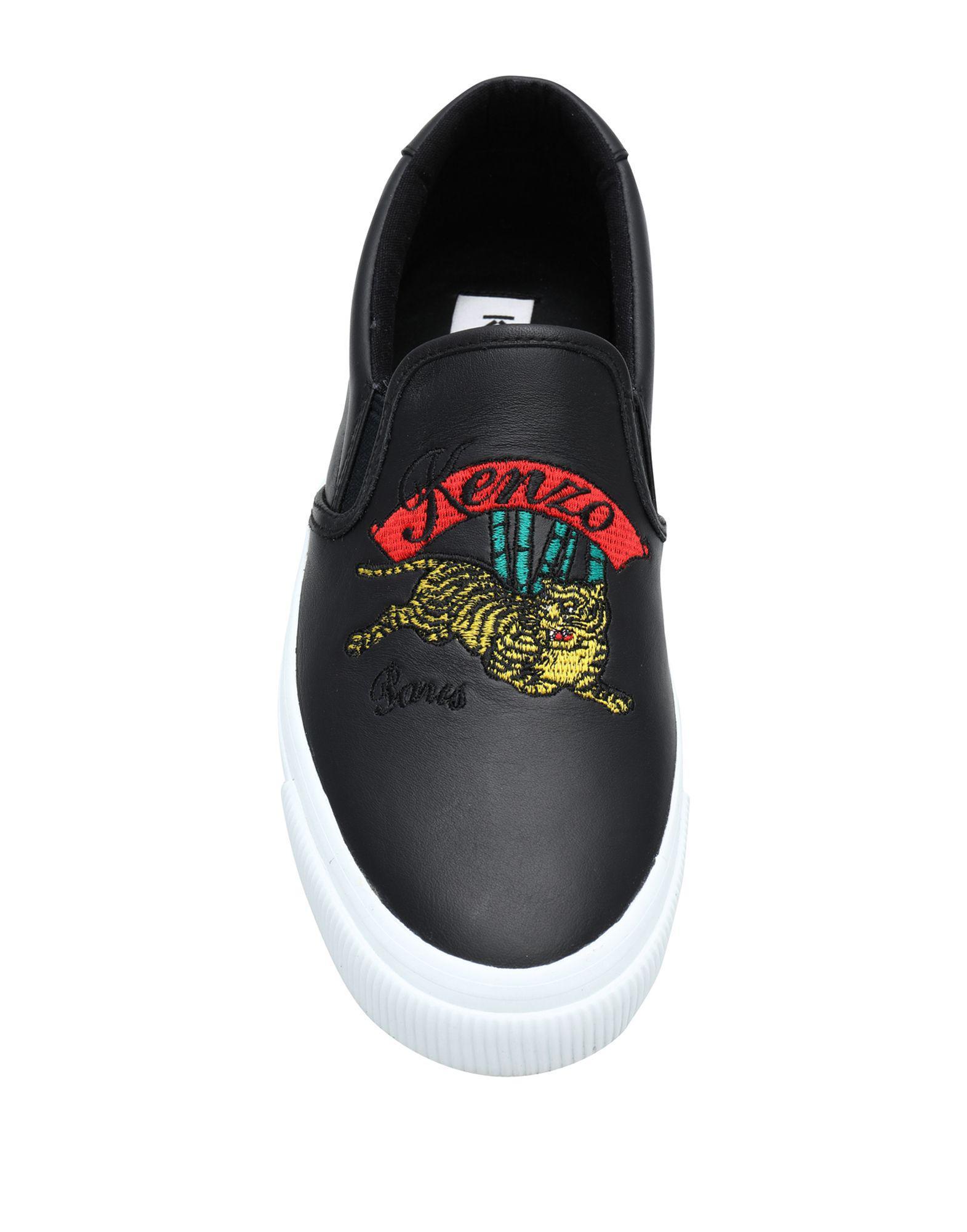 Sneakers & Deportivas KENZO de Cuero de color Negro