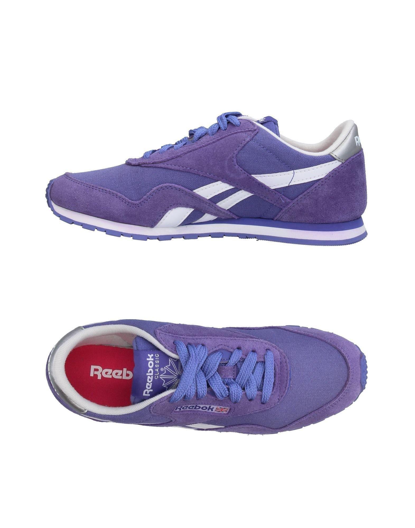 Reebok Topsamp; Sneakers Purple In Low Lyst hQrCdts