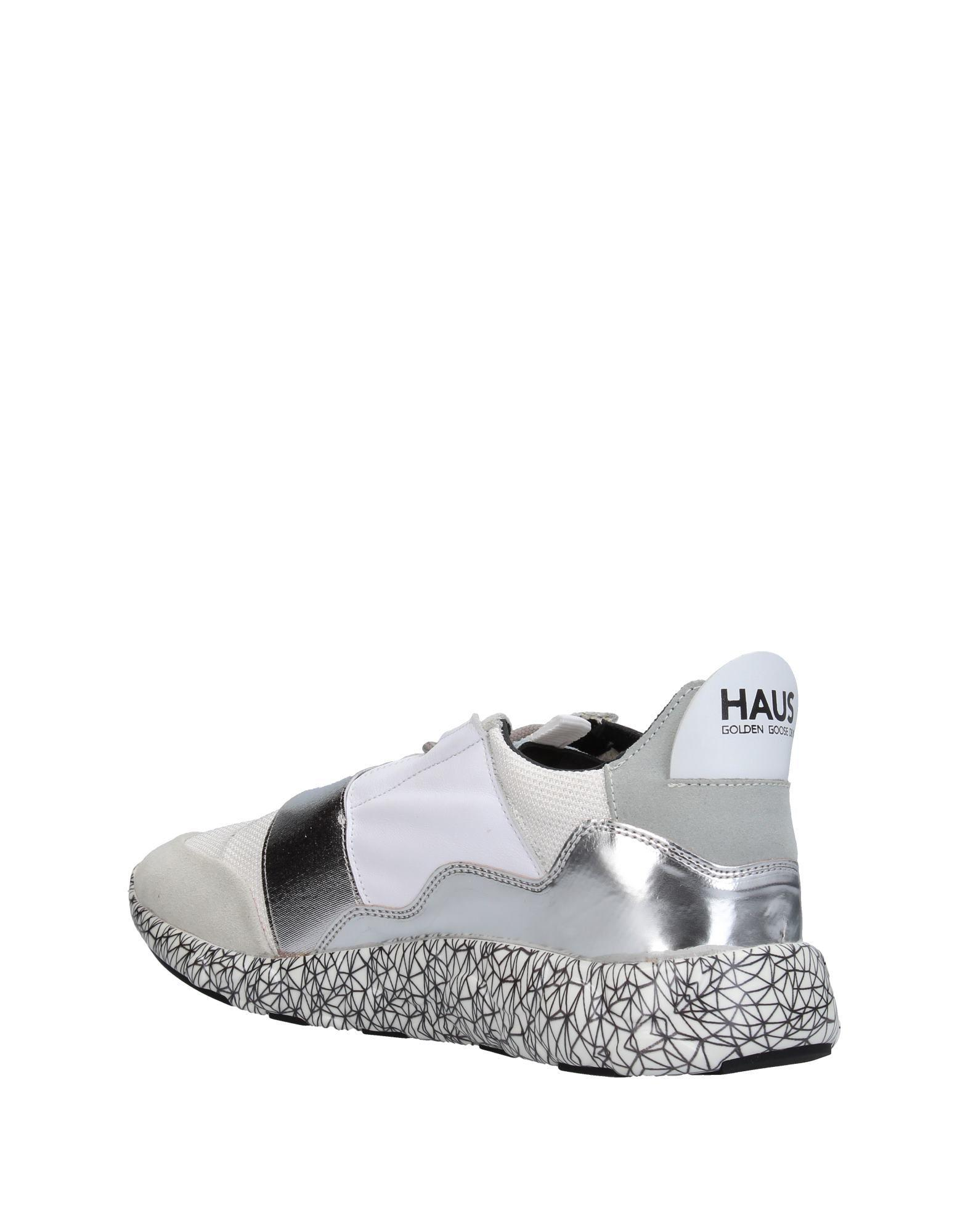 Haus By Golden Goose Deluxe Brand Leather Low-tops & Sneakers in White