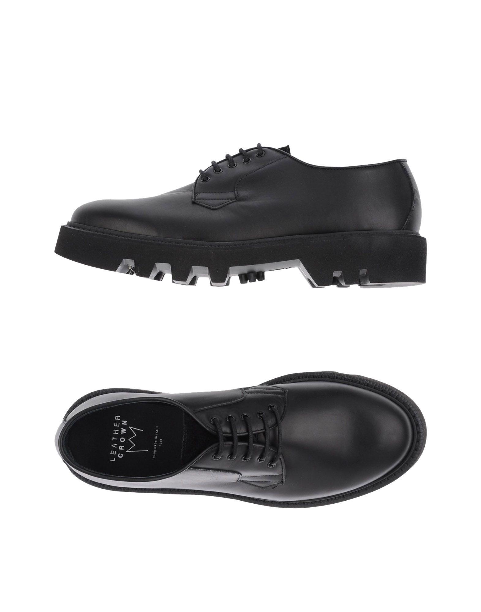 FOOTWEAR - Lace-up shoes Leather Crown yIwZ9