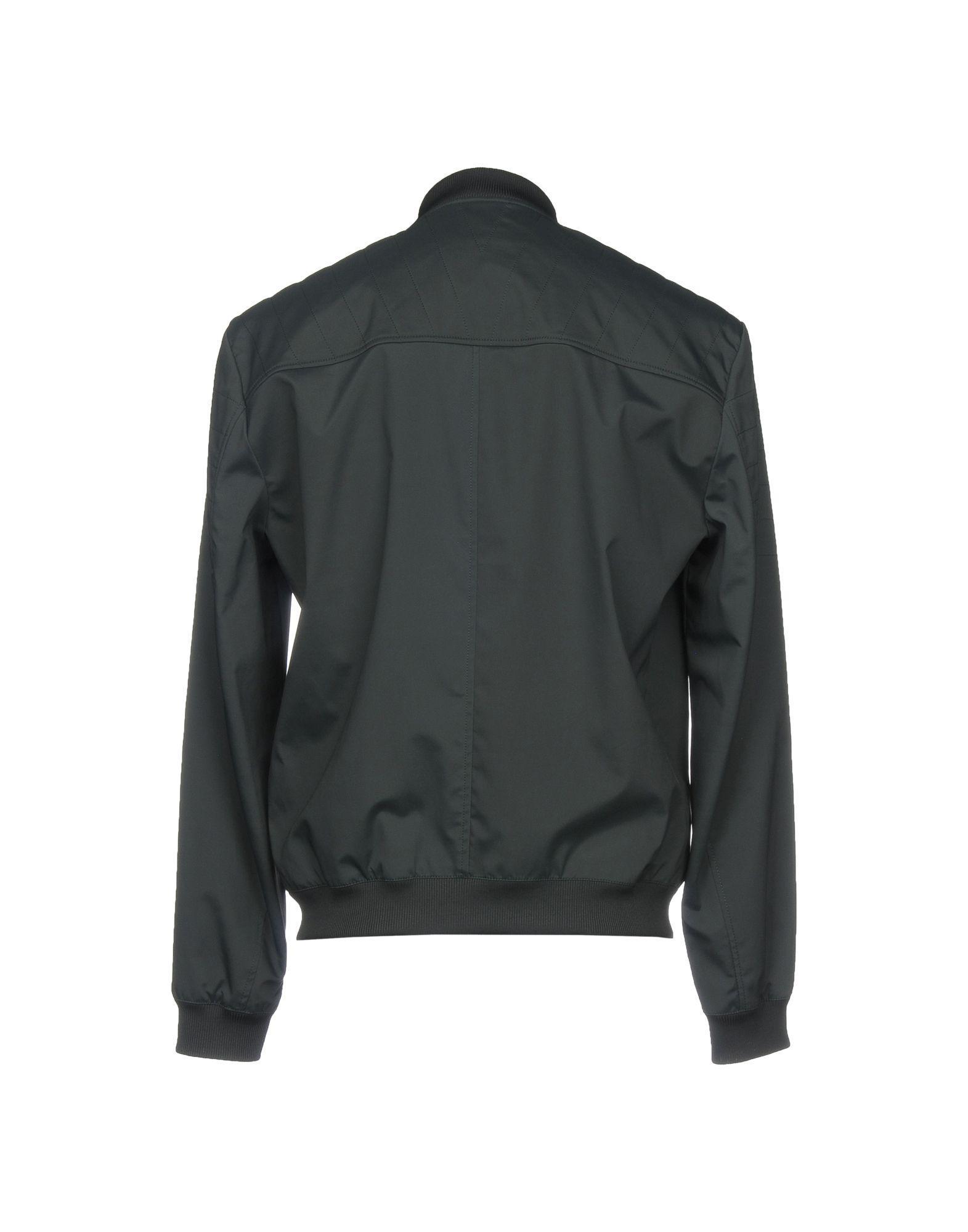 Versace Synthetic Jackets in Dark Green (Green) for Men