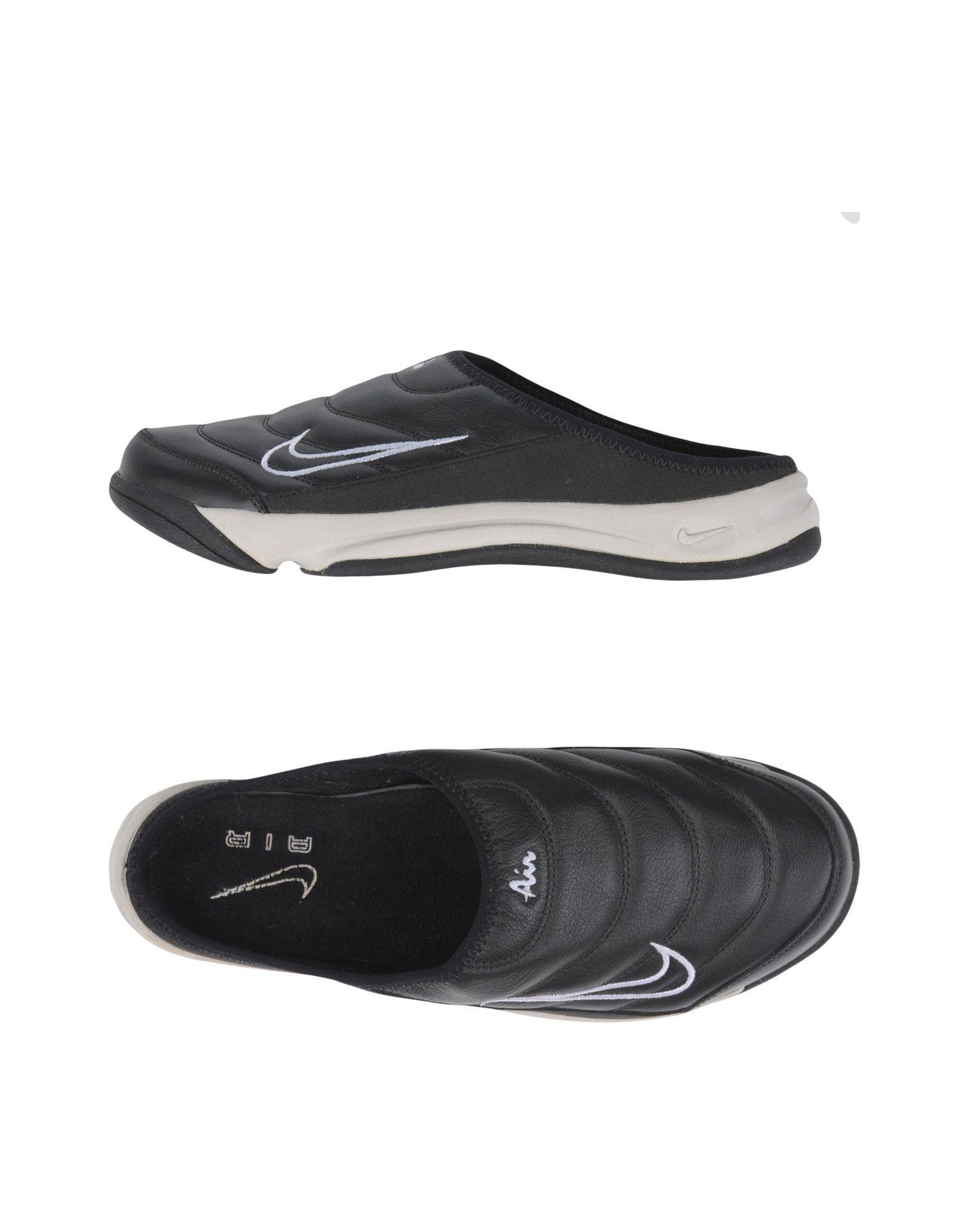 Nike Rubber Mules in Black for Men - Lyst