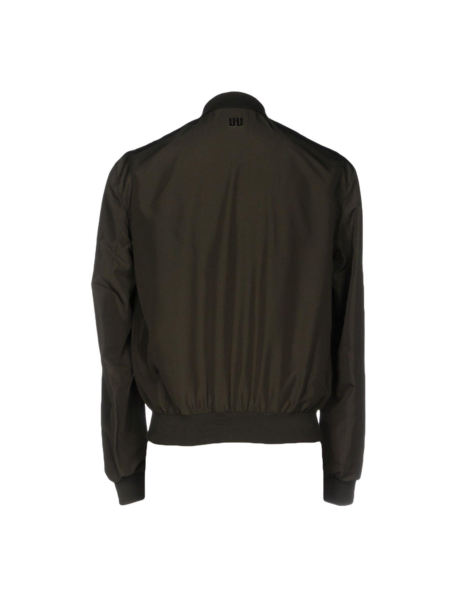 LHU URBAN Synthetic Jacket in Dark Green (Green) for Men
