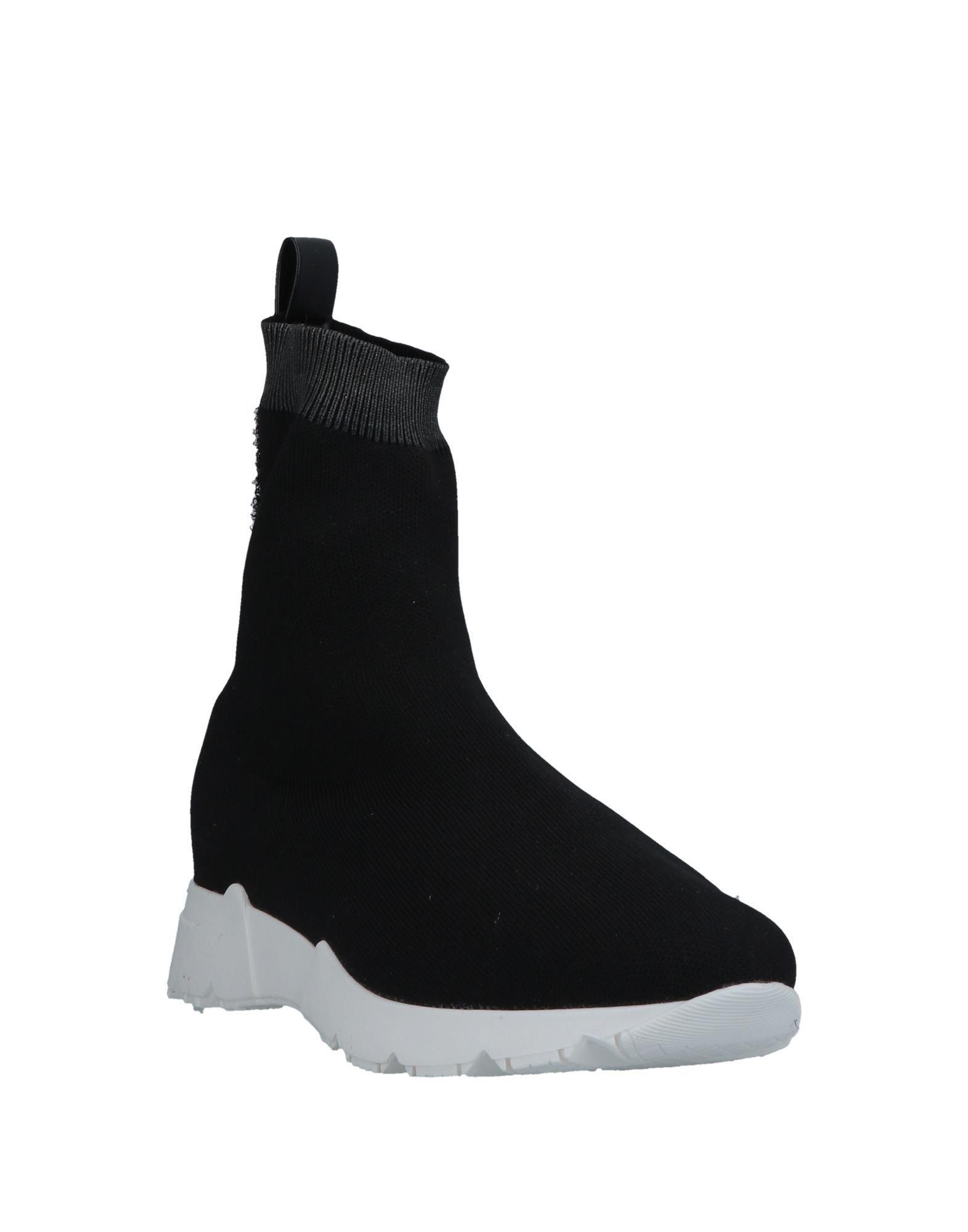 Sneakers abotinadas Momoní de Caucho de color Negro