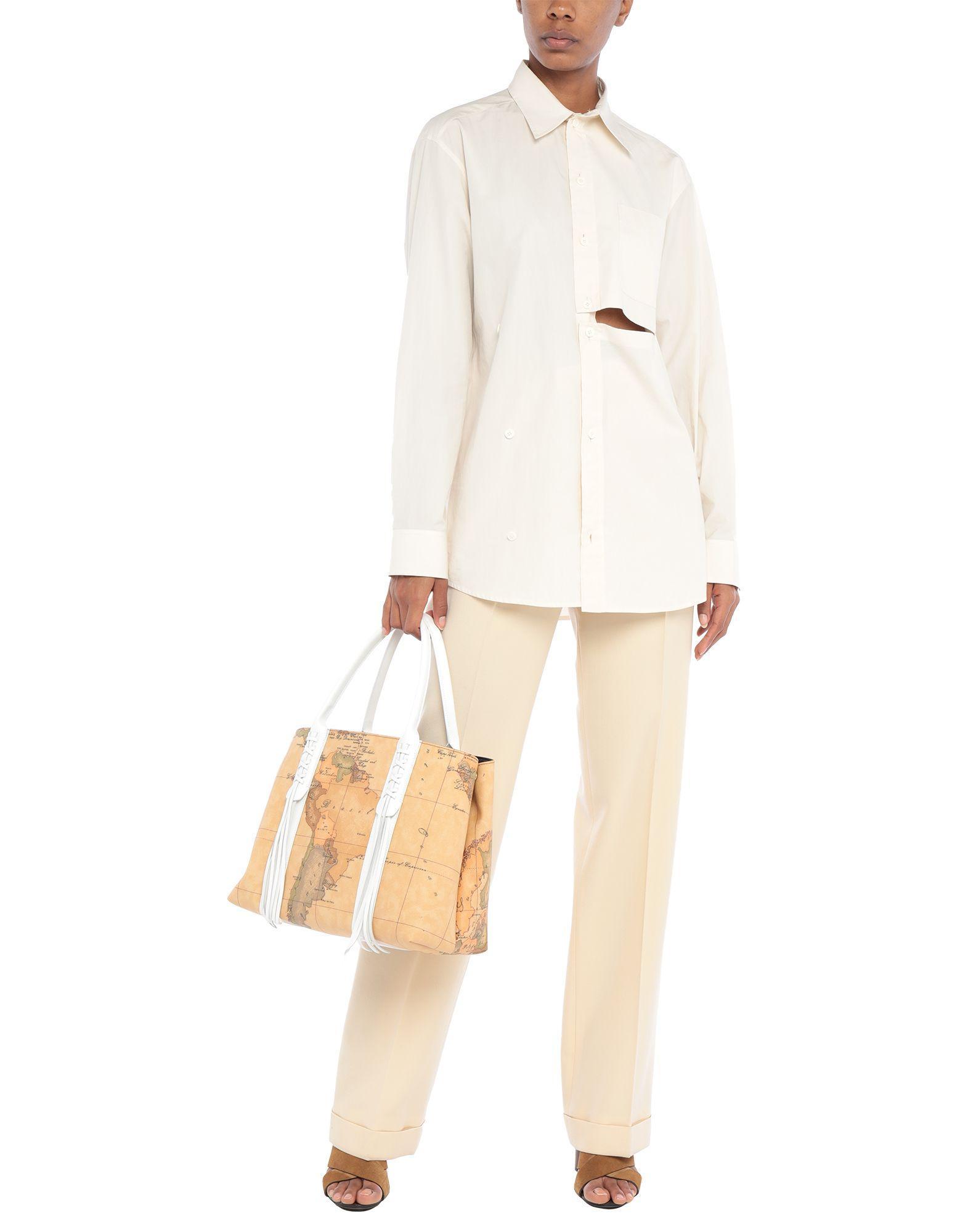 Alviero Martini 1A Classe Handtaschen in Weiß YuS97