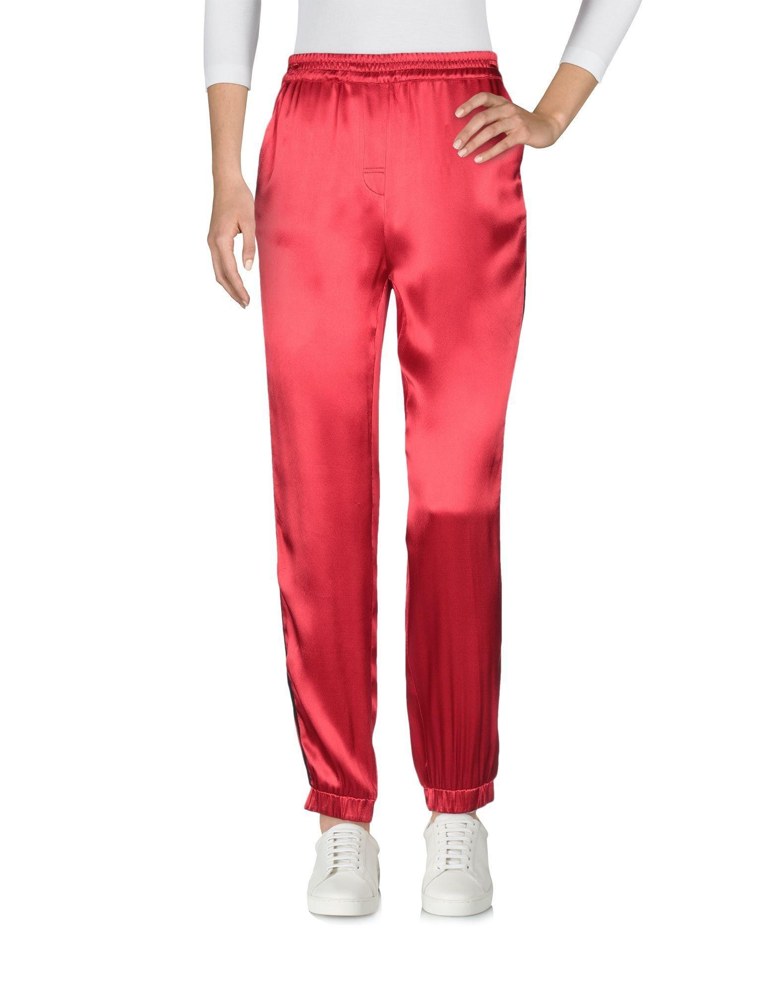 Pantalones Zoe Karssen de Tejido sintético de color Rojo