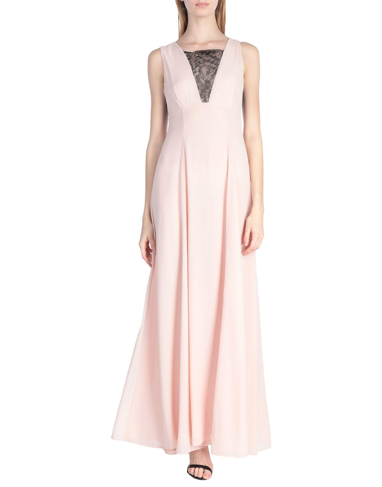 Vestido largo Alessandro Dell'acqua de color Rosa