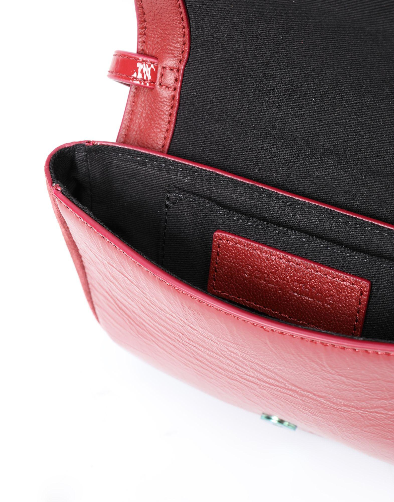See By Chloé Suede Cross-body Bag in Garnet (Red)