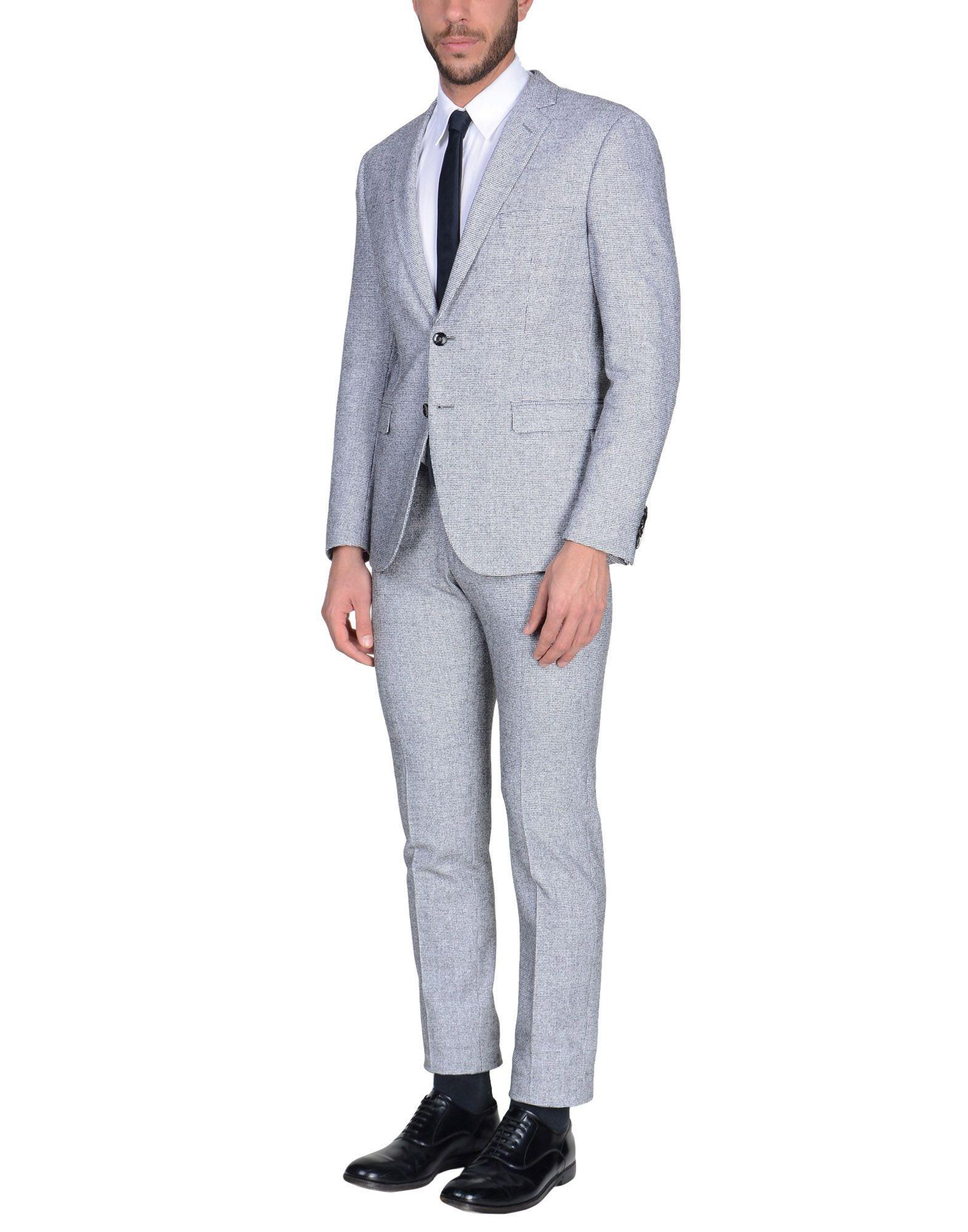 Lyst - Costume Tonello pour homme en coloris Gris 486c7a94a26b