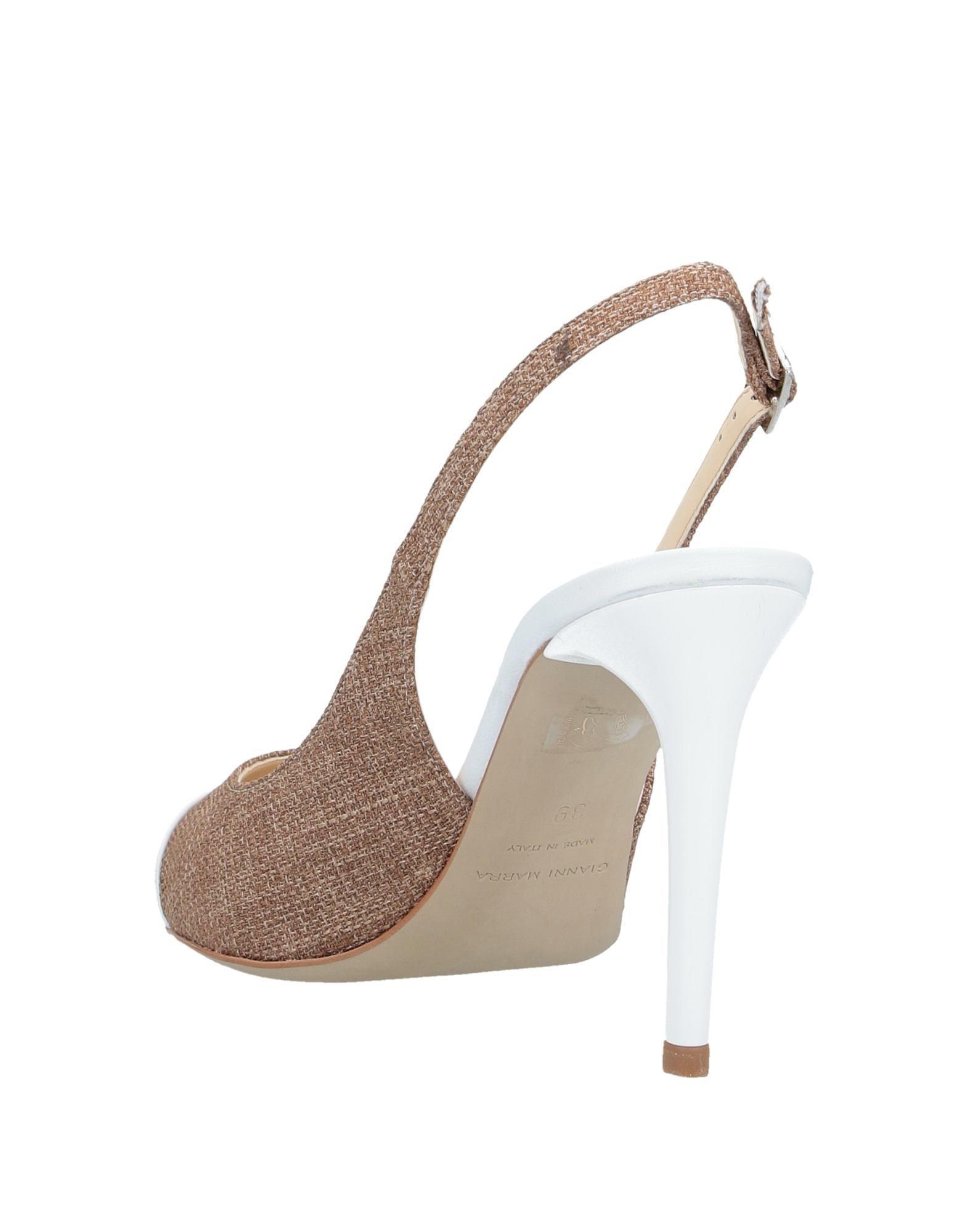 Zapatos de salón Gianni Marra de Cuero de color Marrón