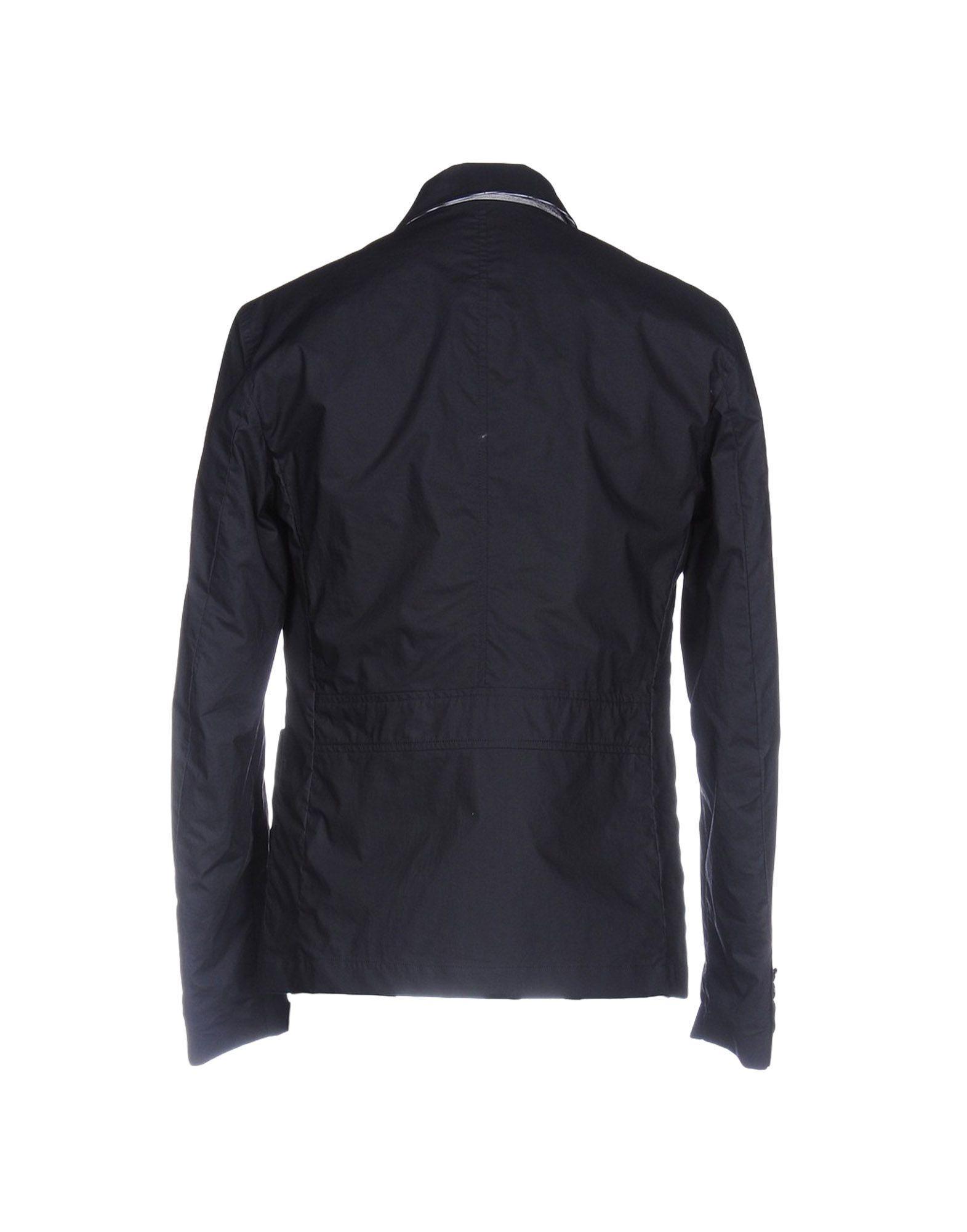 Geospirit Cotton Jacket in Dark Blue (Blue) for Men