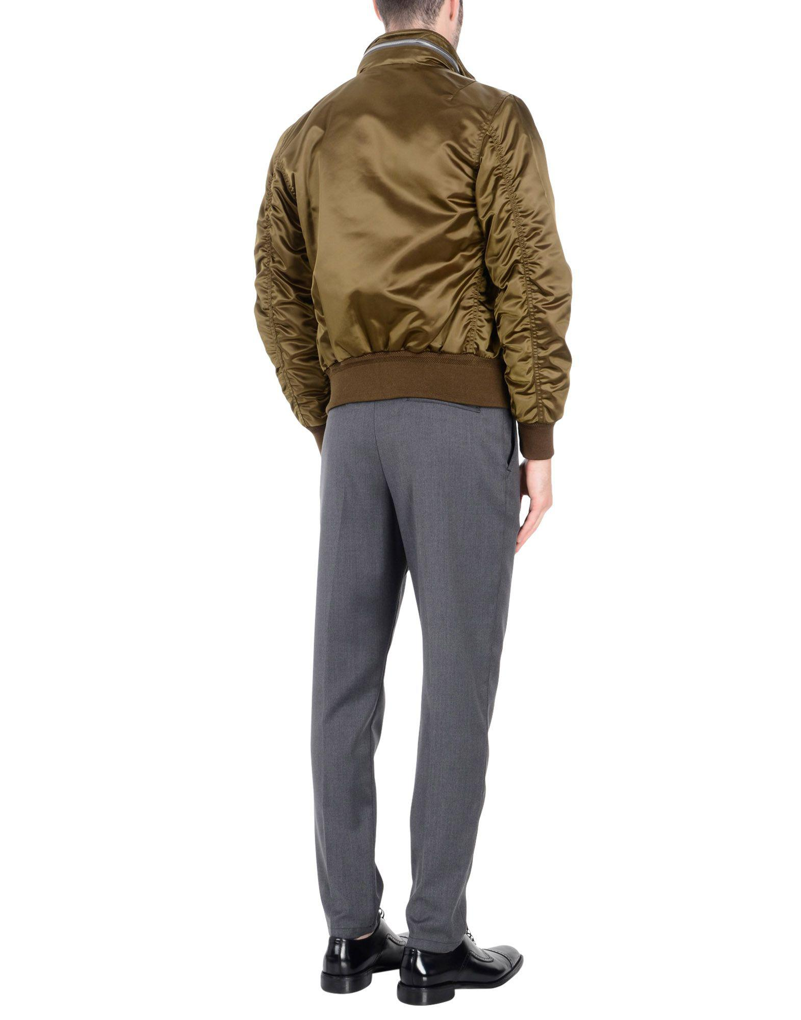 Burberry Synthetic Jacket in Military Green (Green) for Men