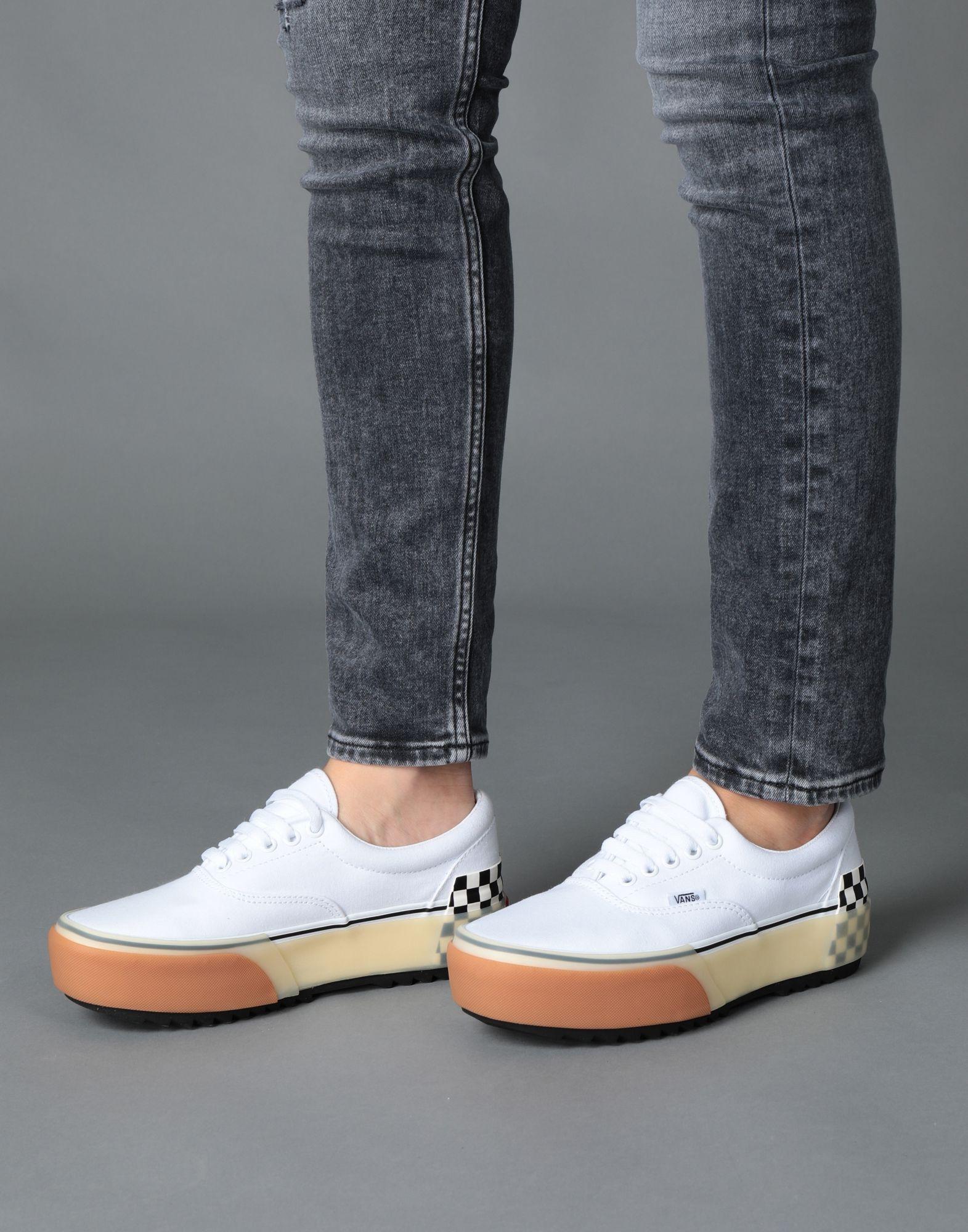Sneakers & Deportivas Vans de Lona de color Blanco
