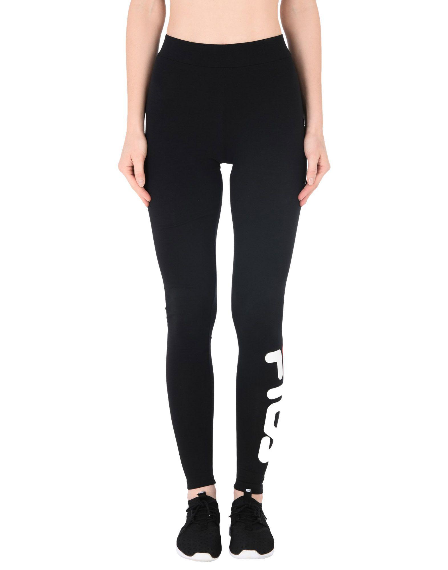 Fila Leggings in Black - Lyst cfe1fc71446