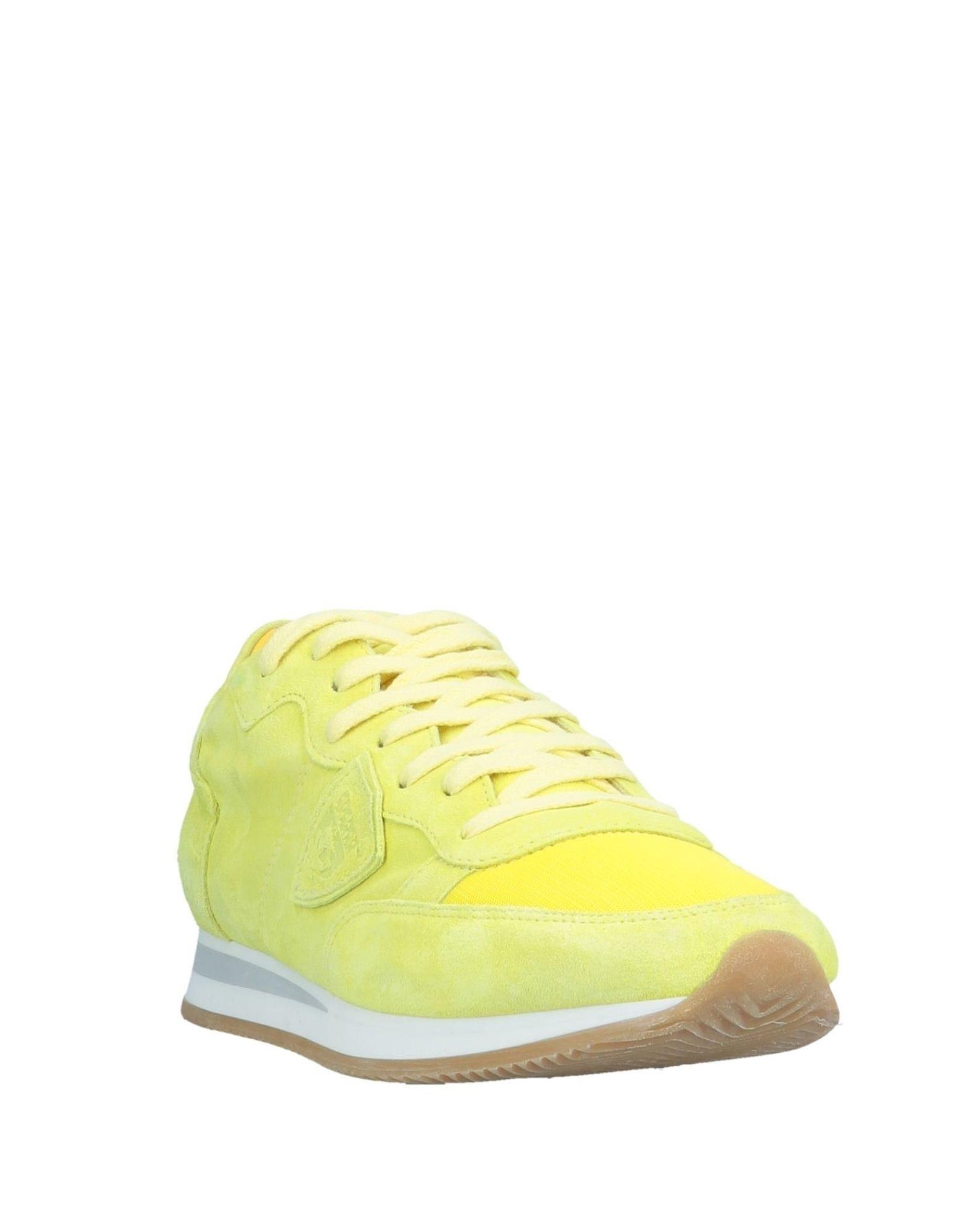 Sneakers & Deportivas Philippe Model de Cuero de color Amarillo para hombre