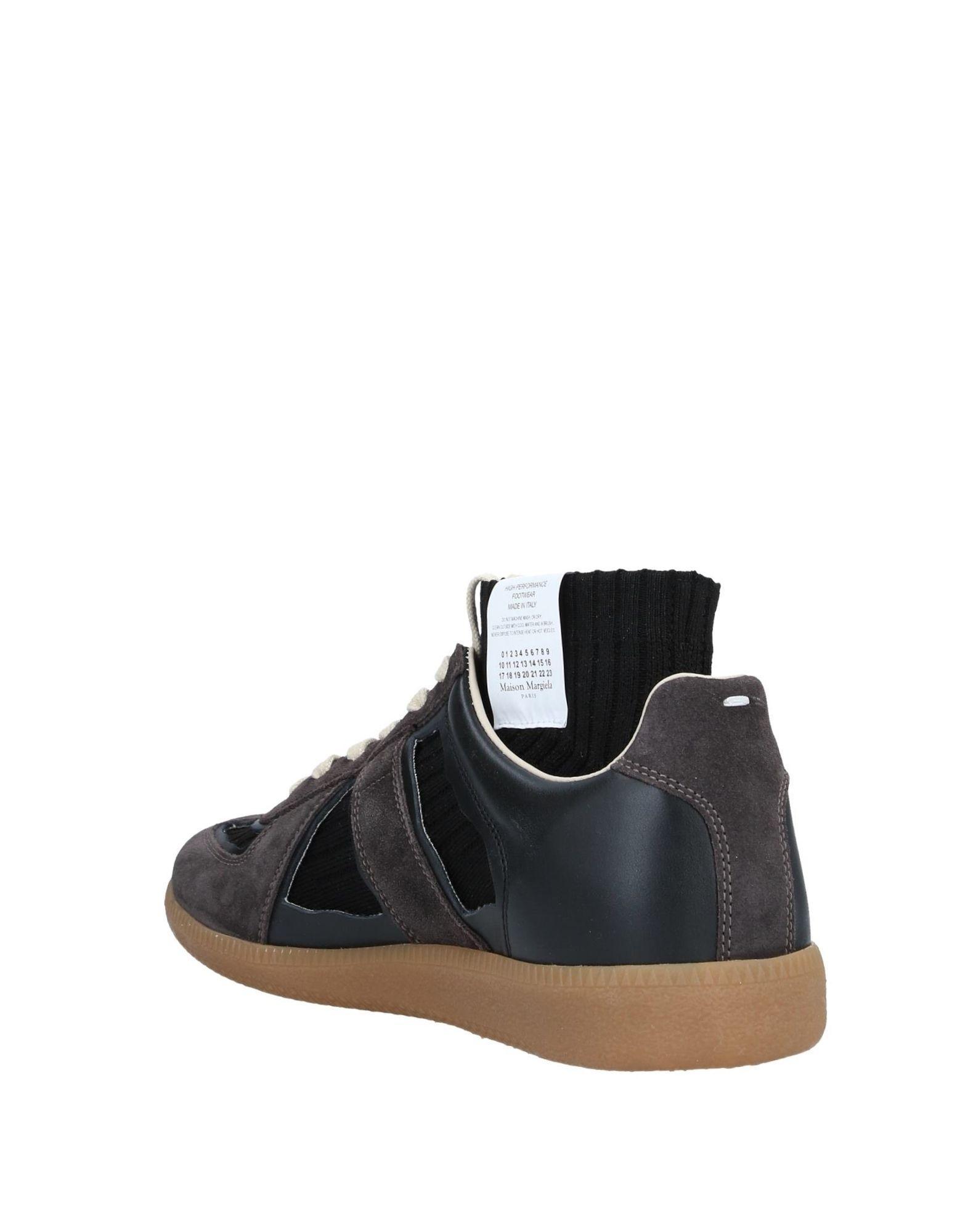 Sneakers abotinadas Maison Margiela de hombre de color Negro