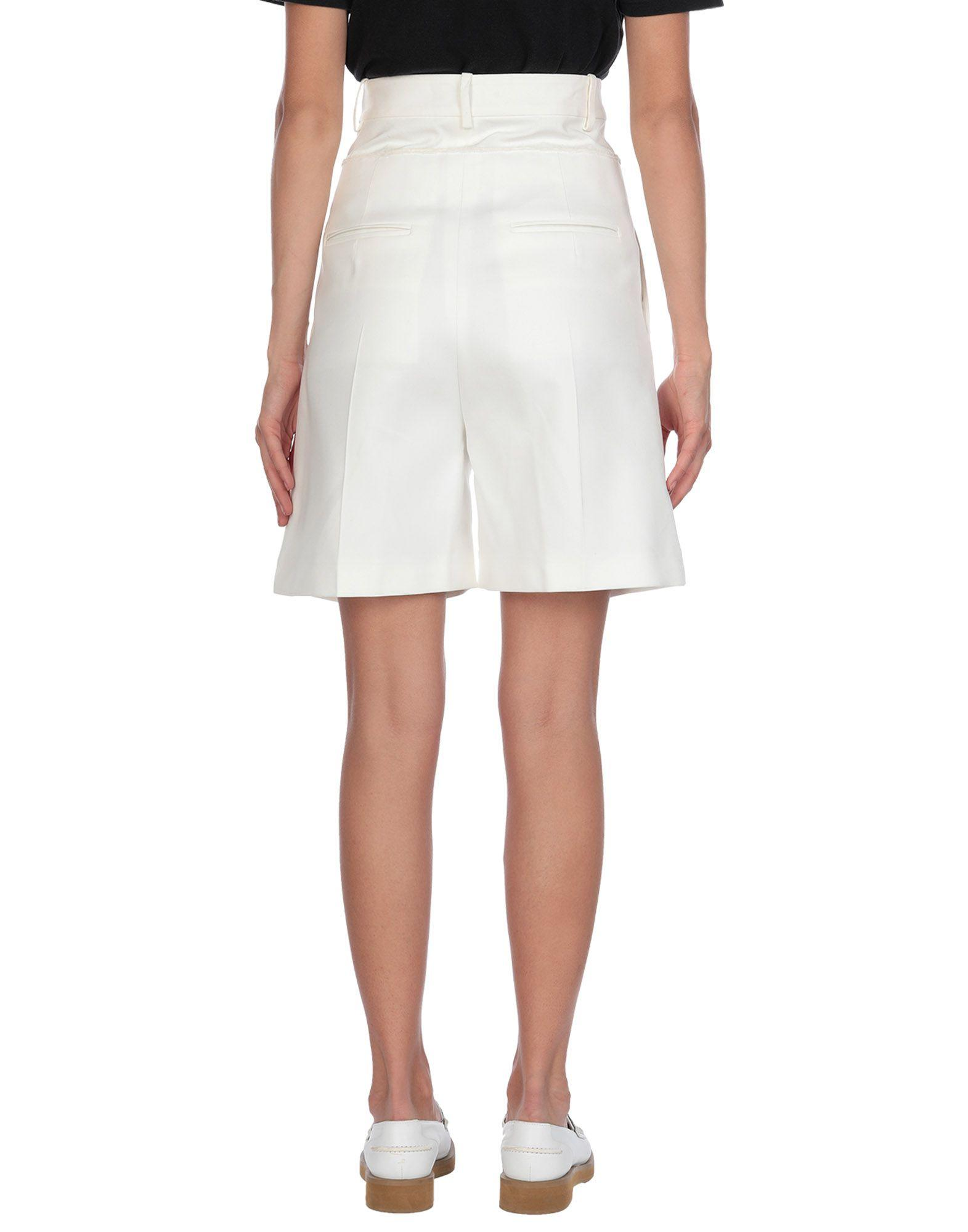 Bermuda Coton Jil Sander en coloris Blanc