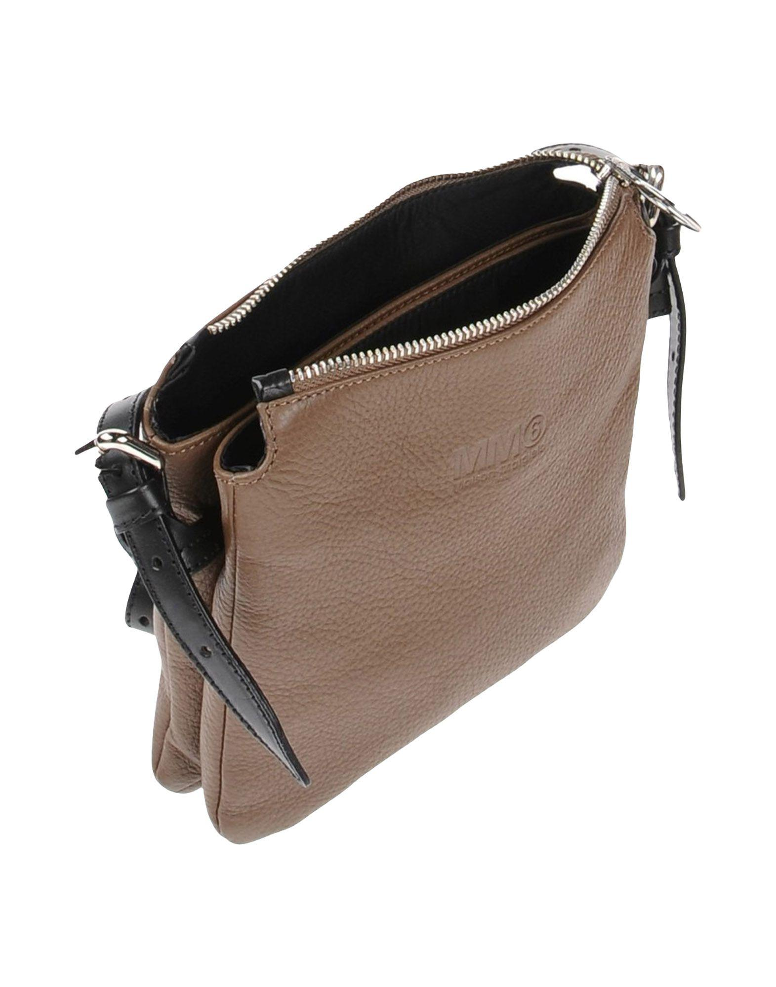 MM6 by Maison Martin Margiela Leather Cross-body Bags