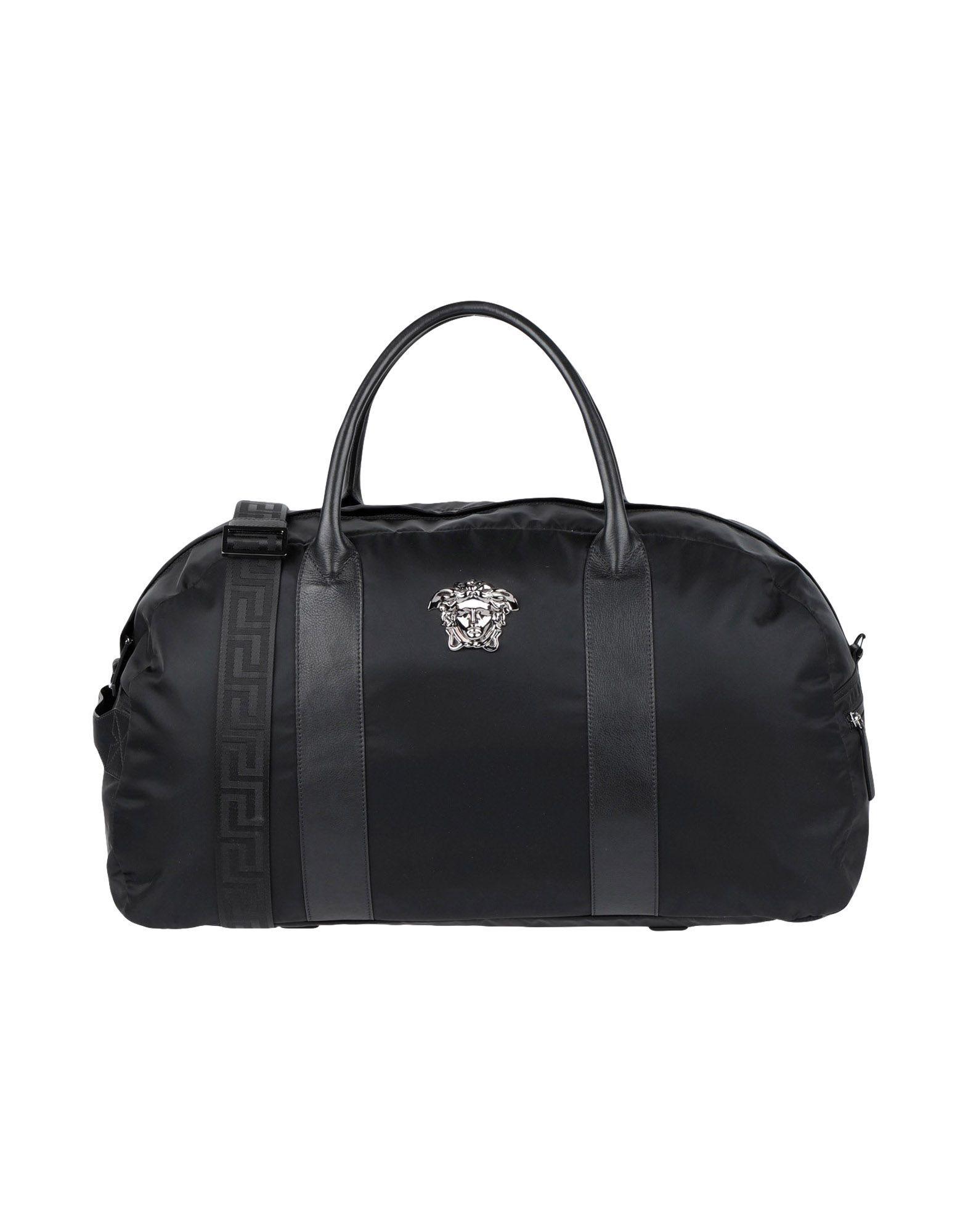 776ad5fb7f Lyst - Versace Travel   Duffel Bag in Black