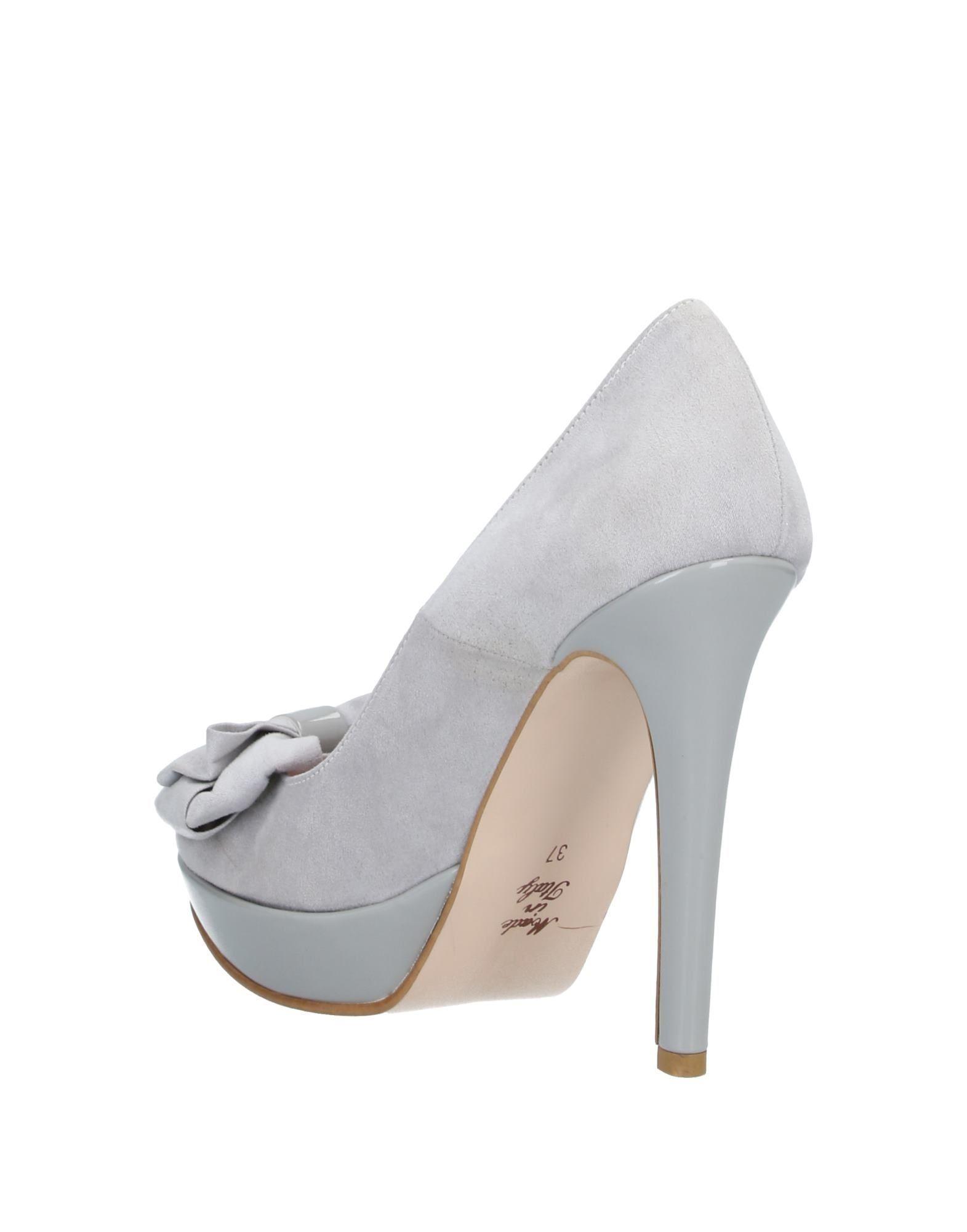 Zapatos de salón Cesare Paciotti de Tejido sintético de color Gris