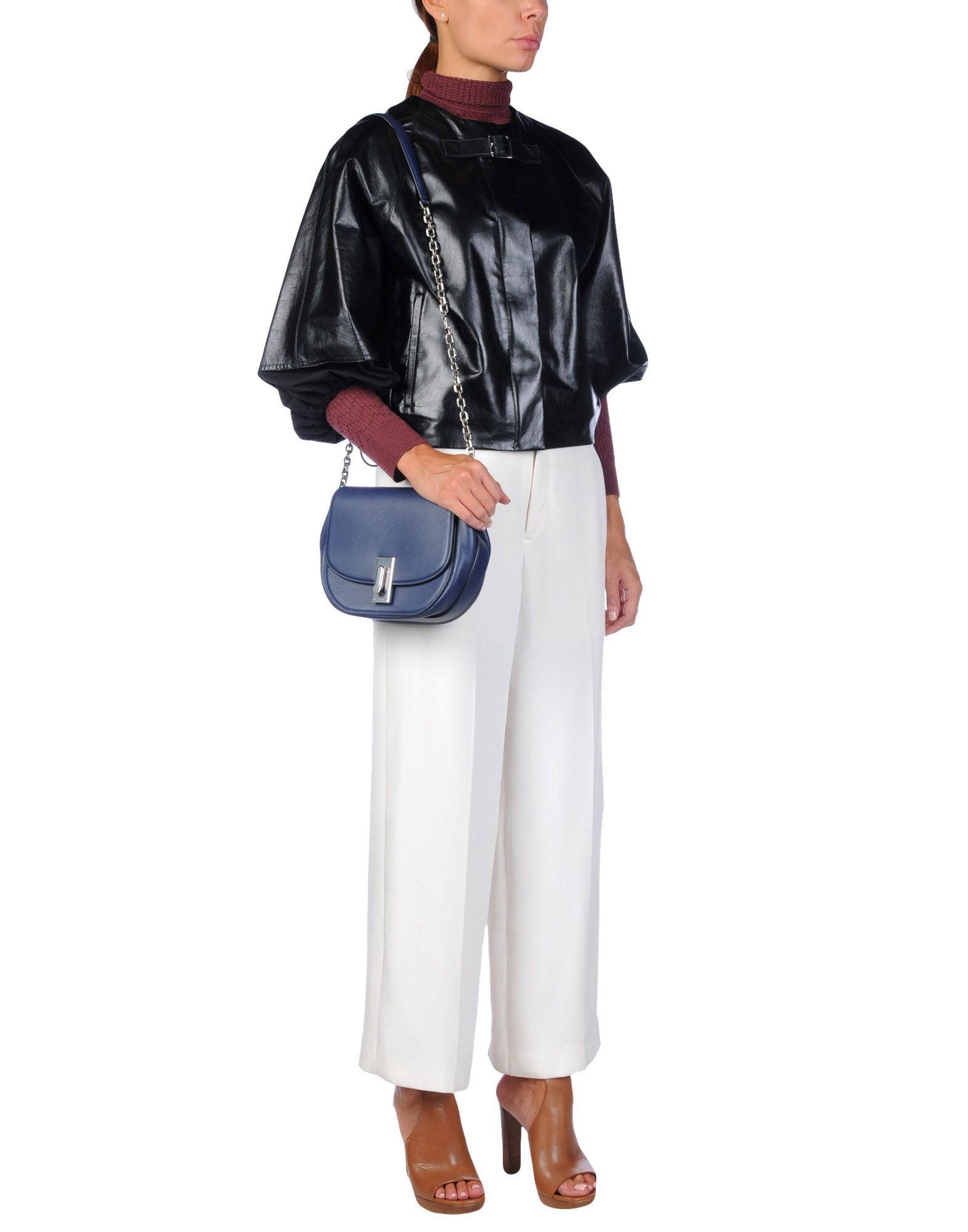 Marc Jacobs Leather Cross-body Bag in Dark Blue (Blue)