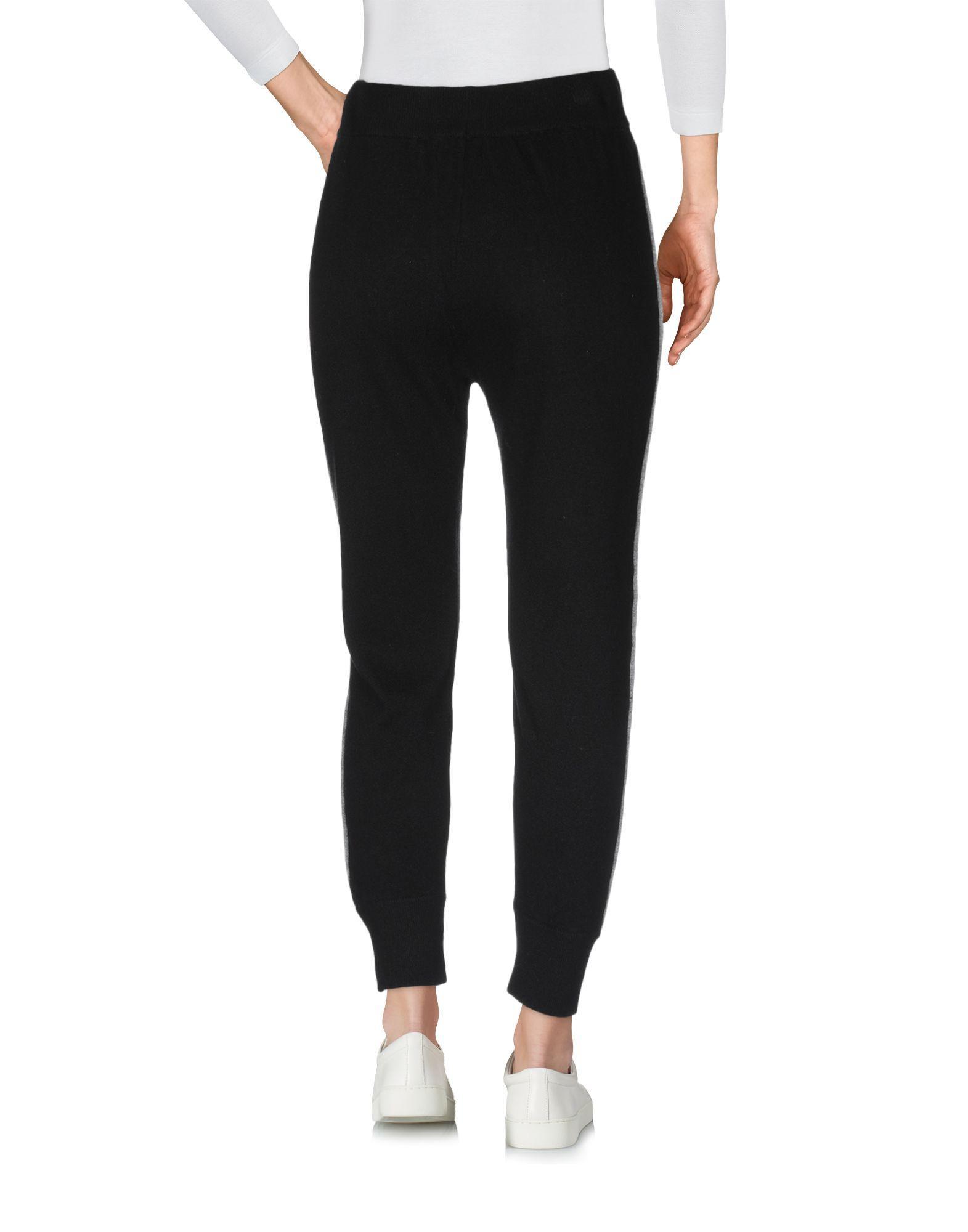 Pantalones CROCHÈ de Lana de color Negro