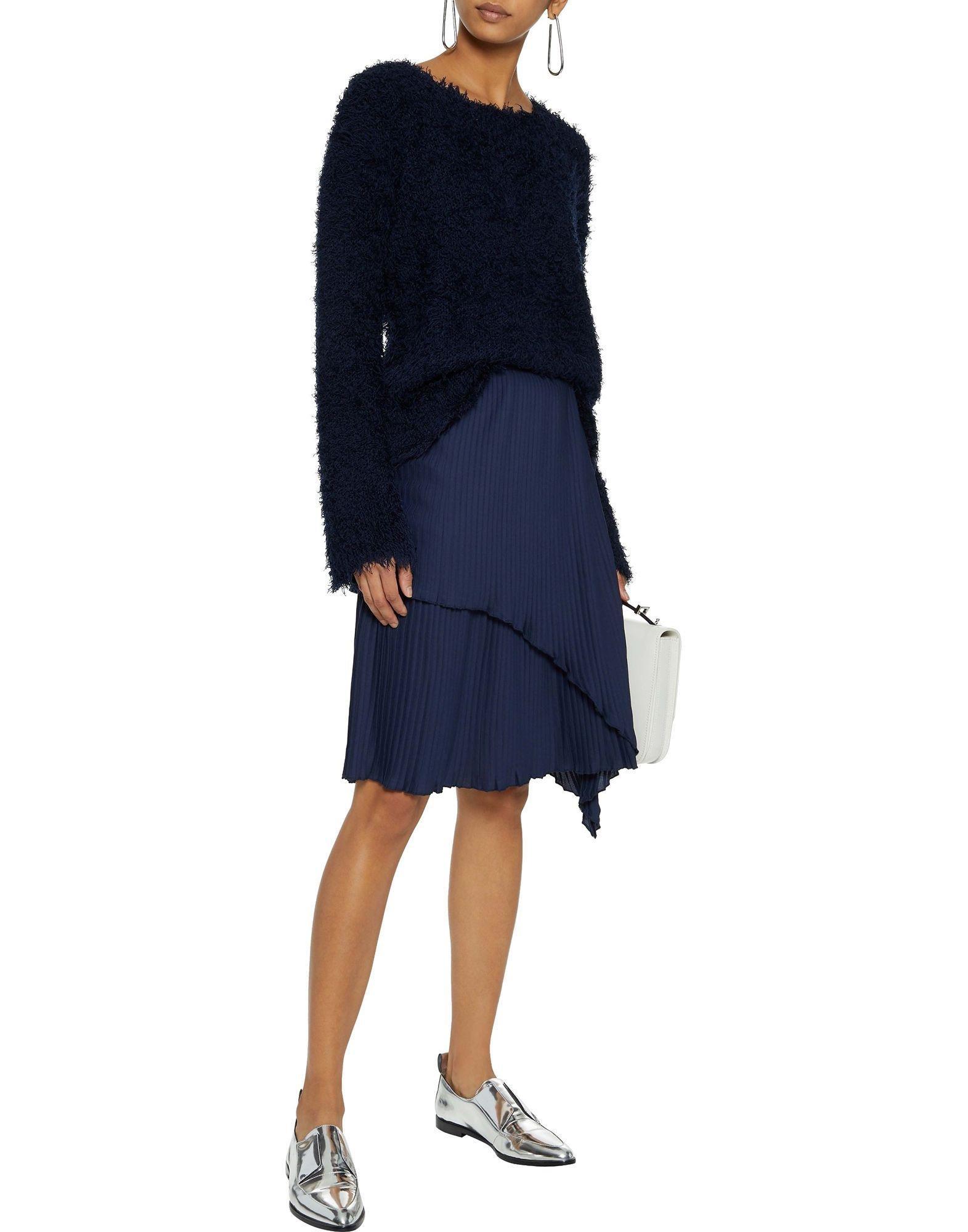 Pullover Mansur Gavriel de Seda de color Azul