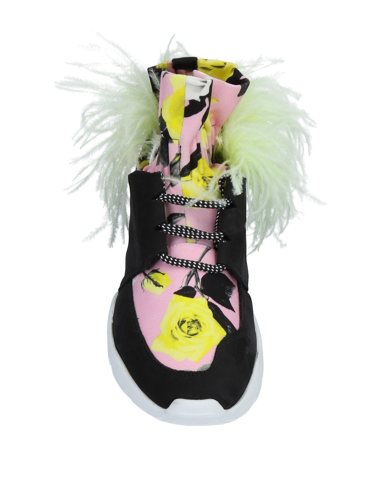 MSGM Rubber High-tops & Sneakers in Pink