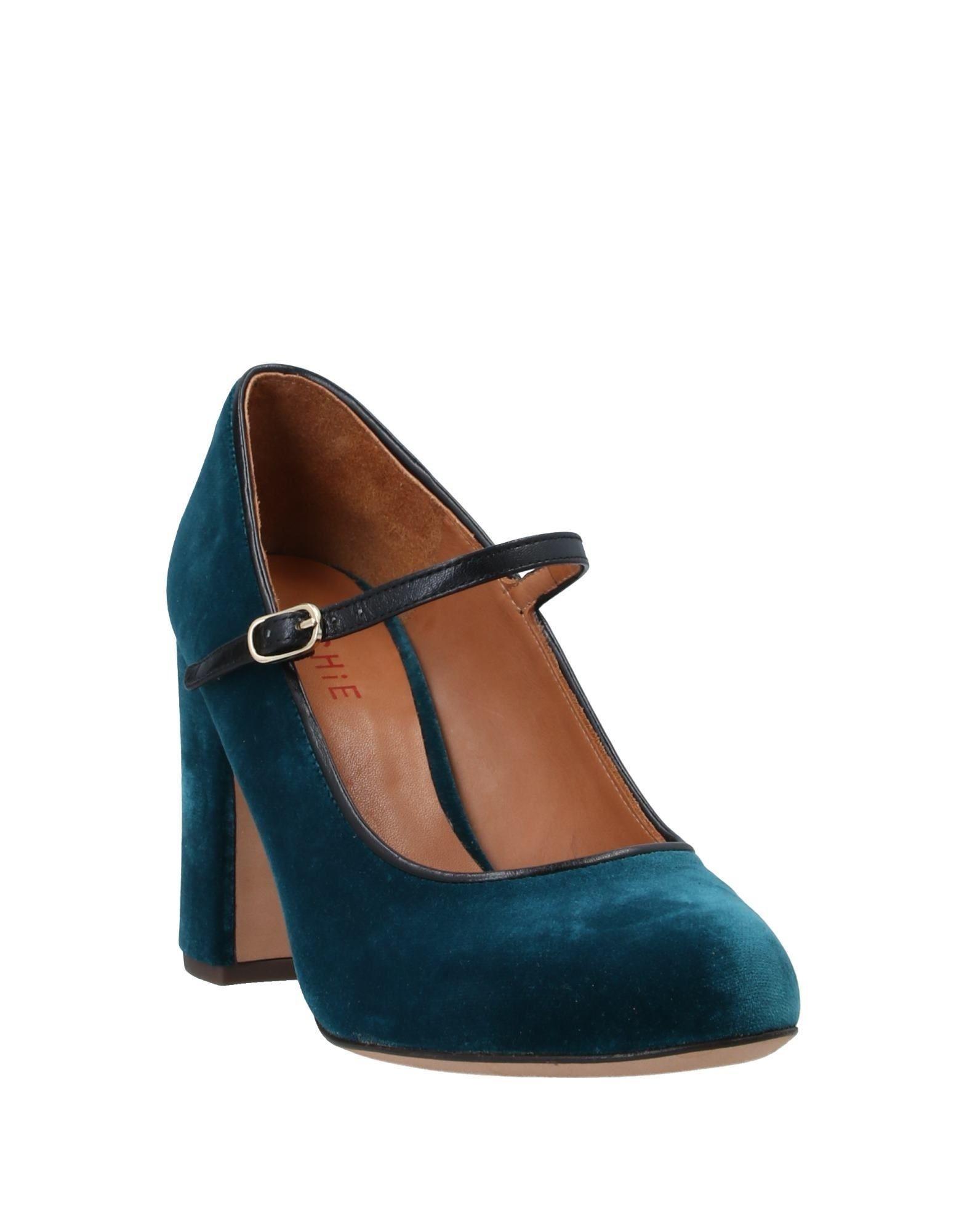 Zapatos de salón Chie Mihara de Cuero de color Azul