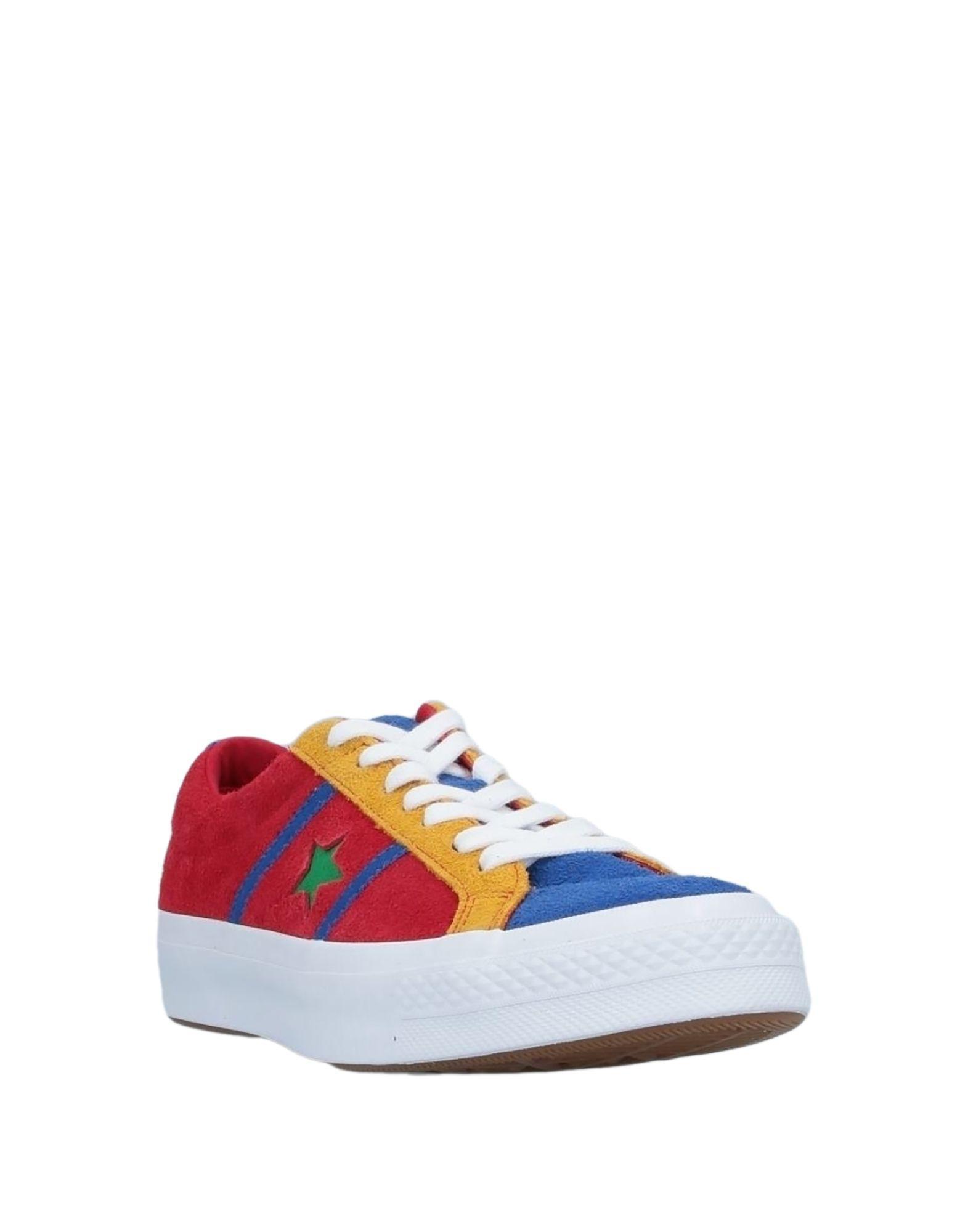 Sneakers & Deportivas Converse de hombre de color Rojo