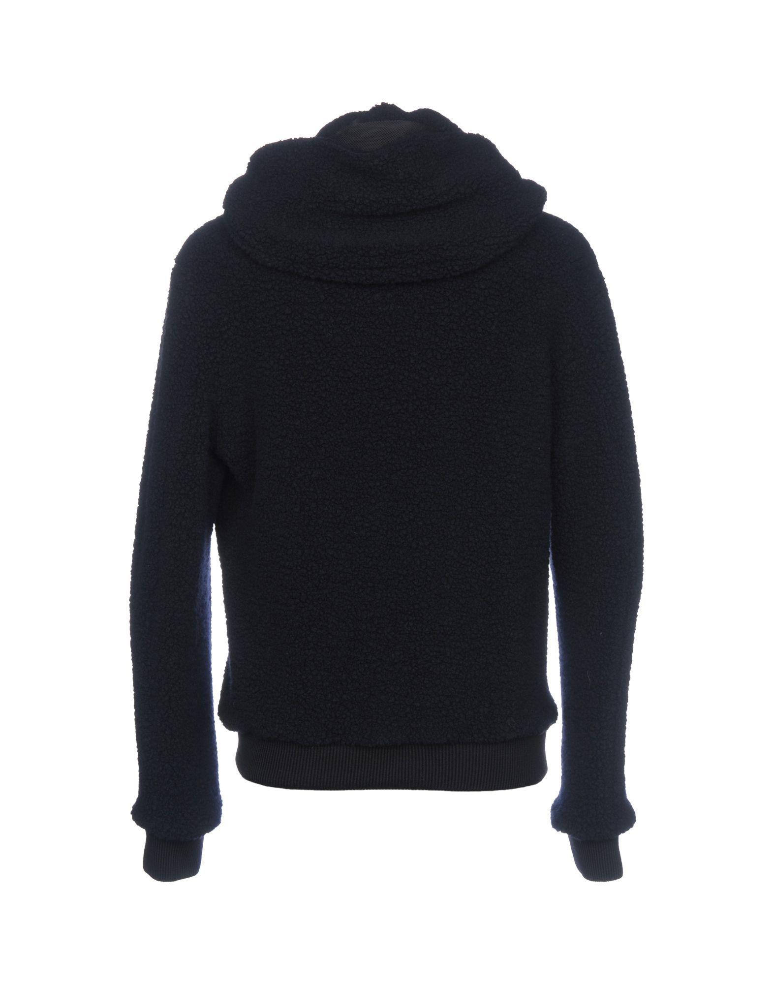 Hevò Wool Jacket in Dark Blue (Blue) for Men