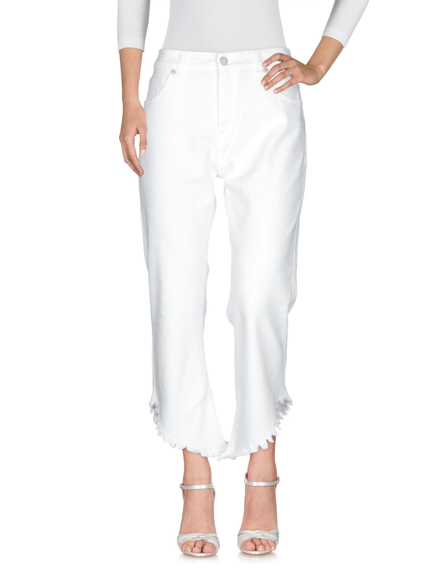 Pantalones vaqueros Twenty Easy By Kaos de Denim de color Blanco