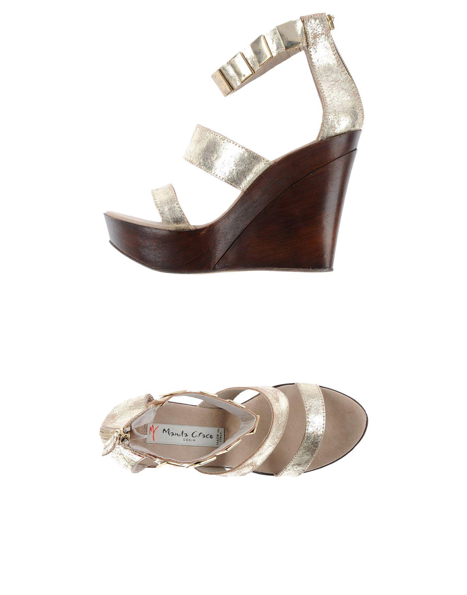 original MANILA GRACE DENIM Sandals sale with paypal XrRpQzu