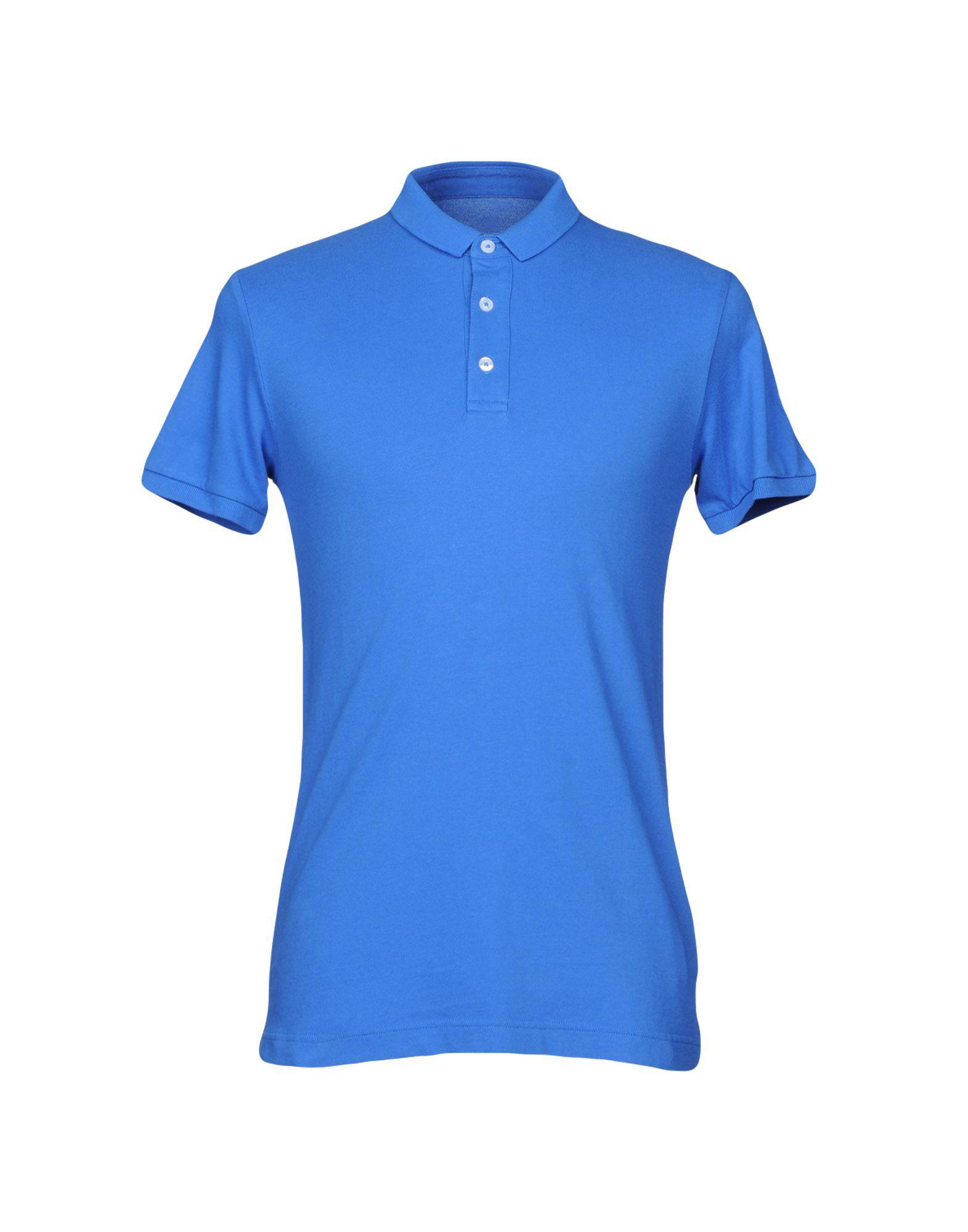 Lyst colmar polo shirt in blue for men for Blue piscine colmar