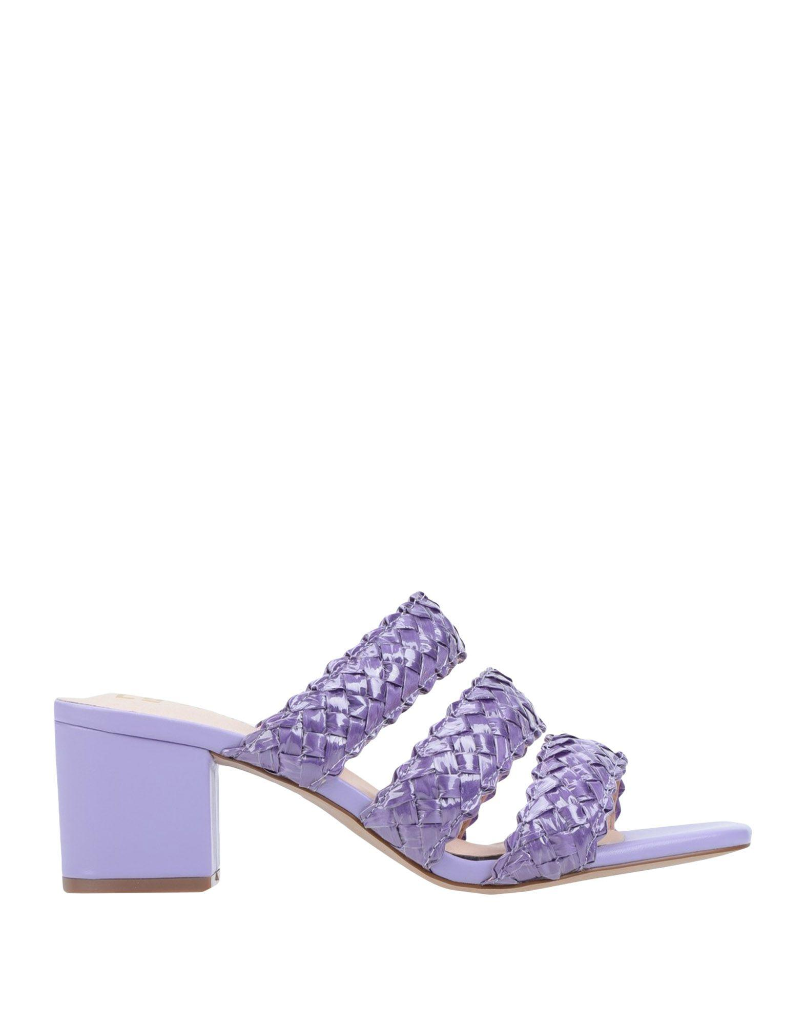 E8 By Miista Leather Sandals in Light