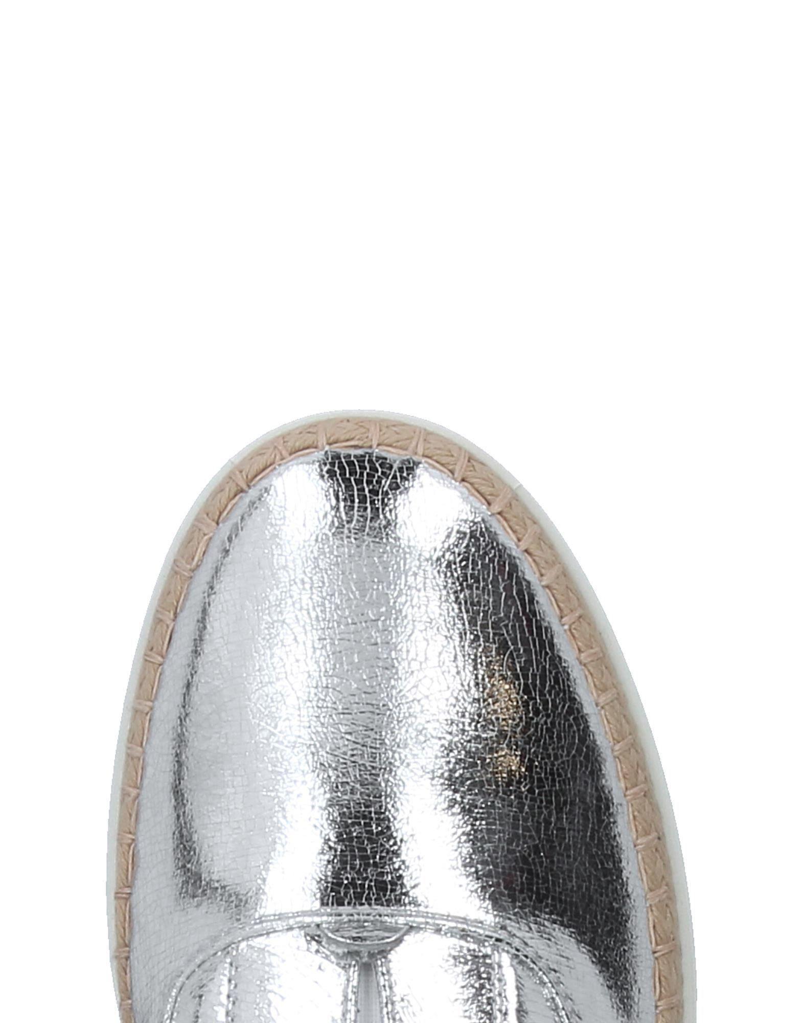 Mocasines Tod's de color Metálico