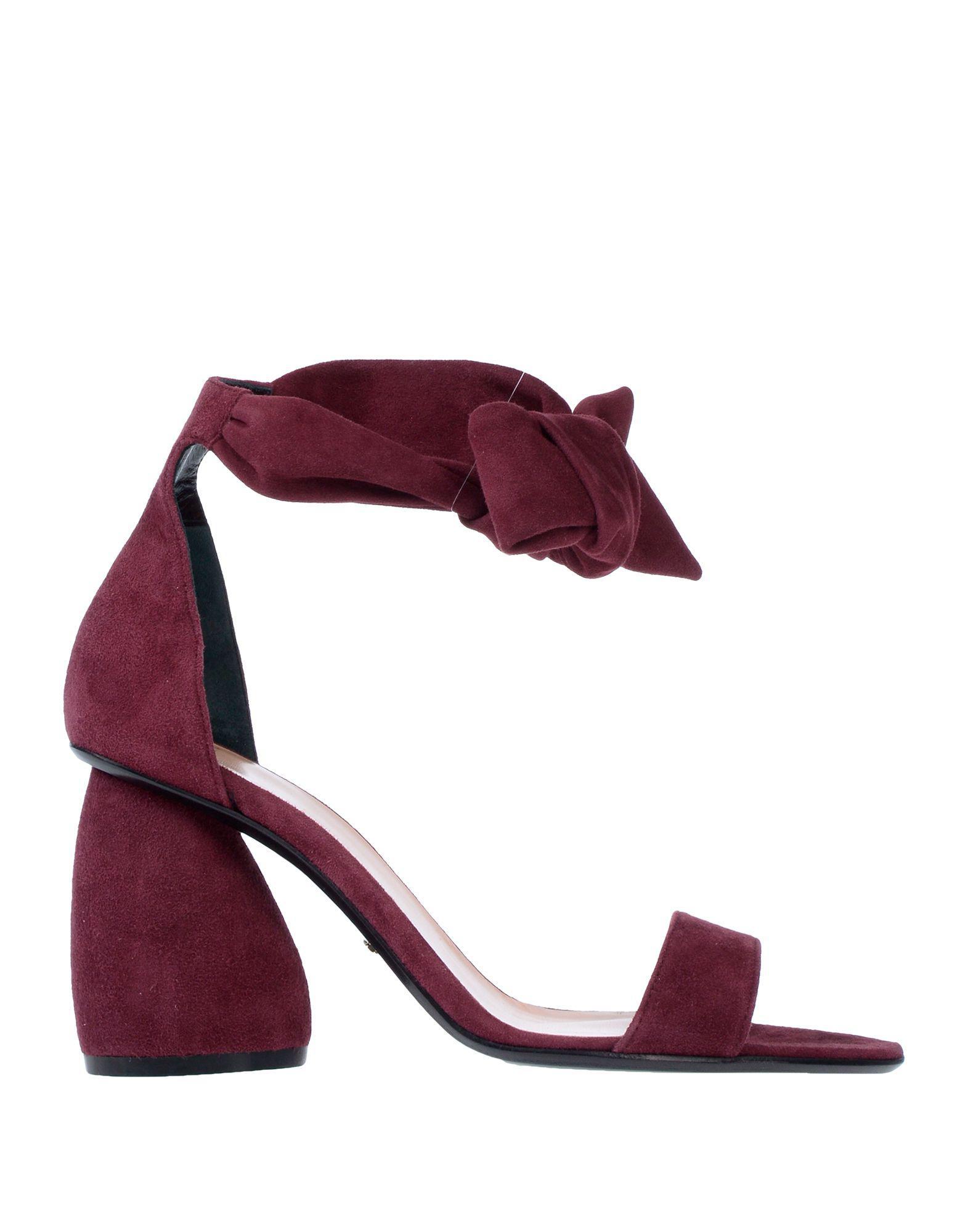 low priced c9021 2d32a carven-Deep-purple-Sandals.jpeg