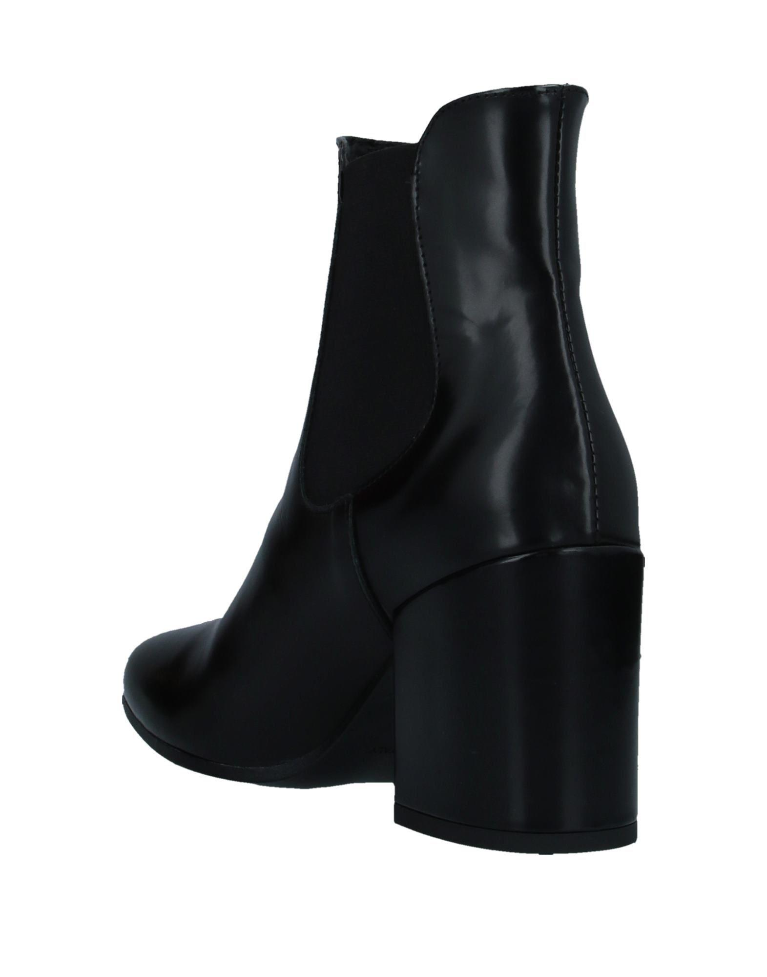 Botines de caña alta Loretta Pettinari de Cuero de color Negro
