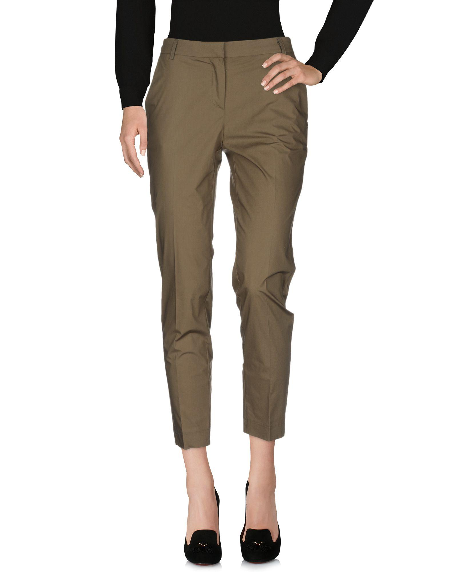 Pantalon Coton Ottod'Ame en coloris Vert