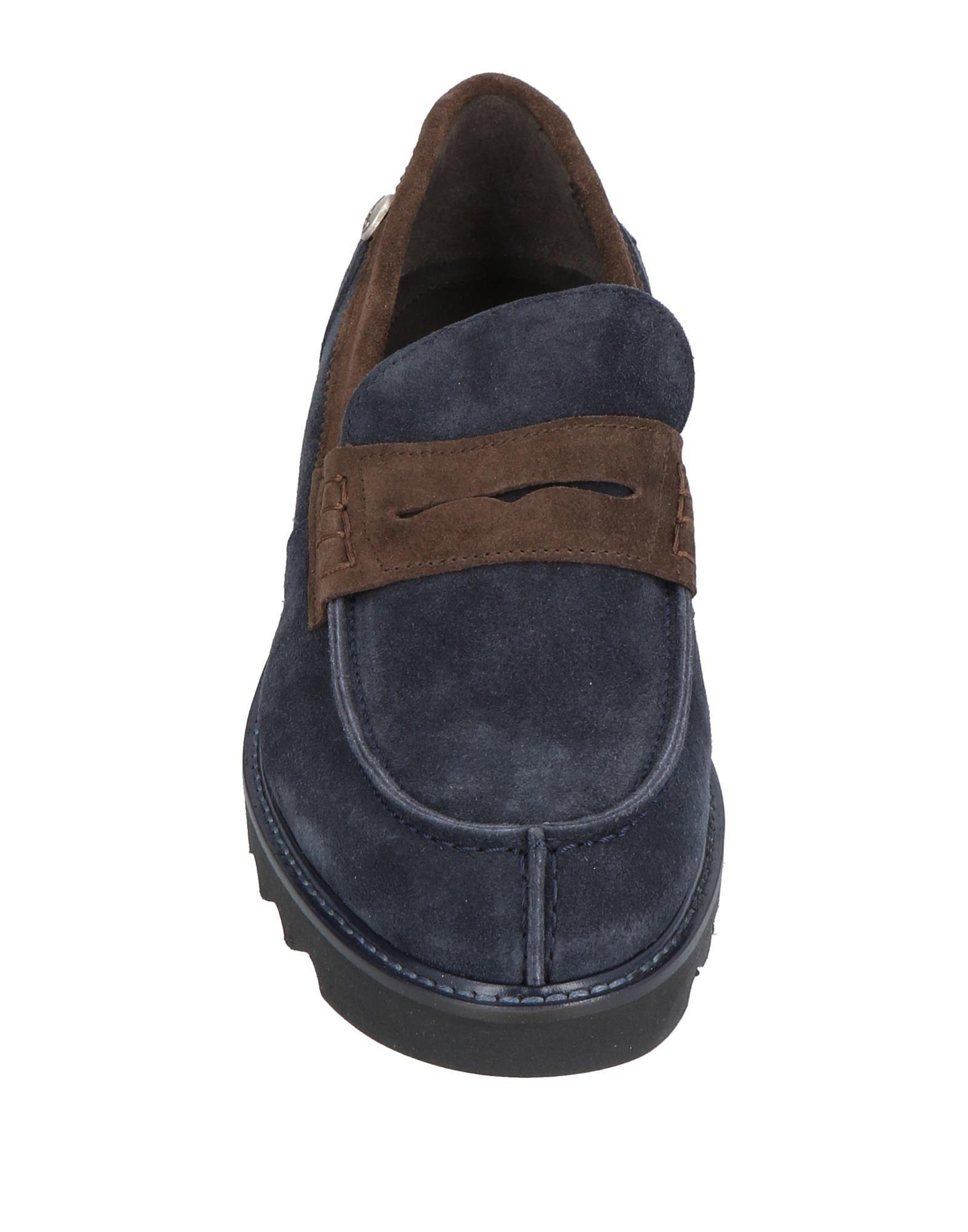 ( Verba ) Suede Loafer in Dark Blue (Blue) for Men