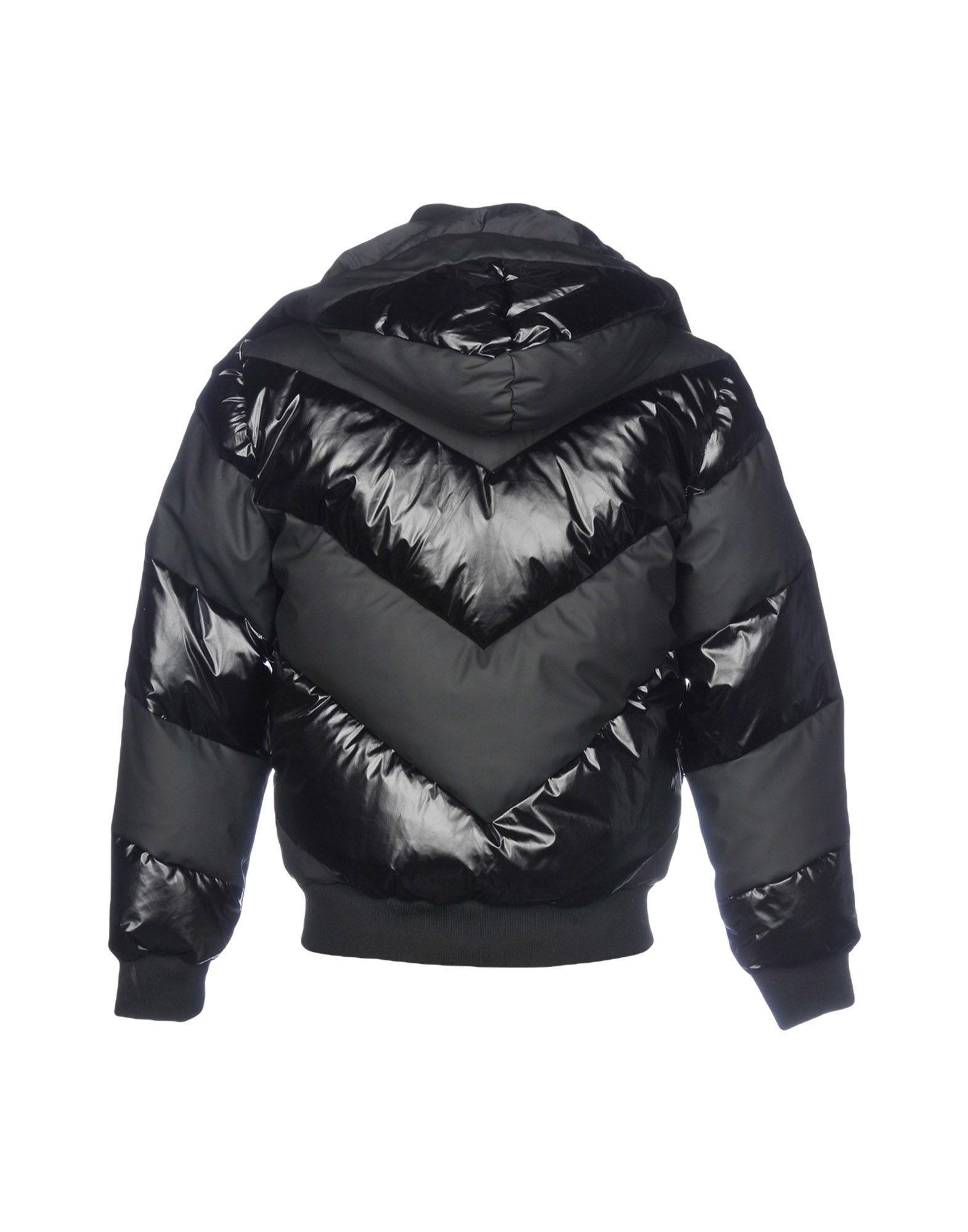 Frankie Morello Down Jacket in Black for Men