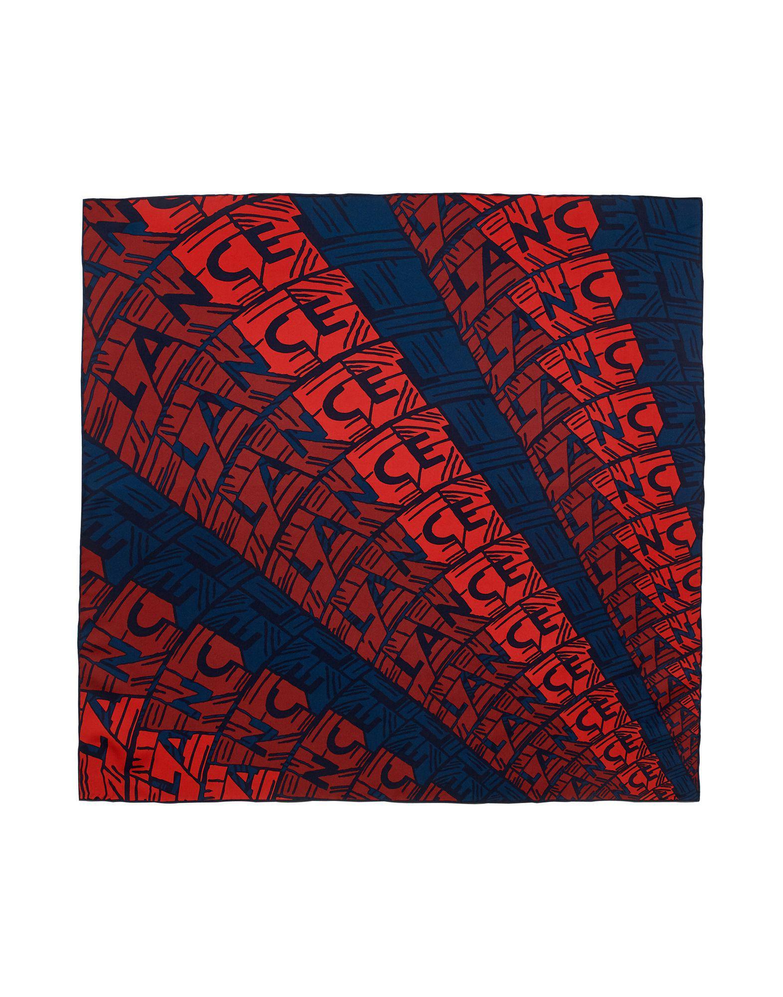 d00fcefd6a4e Lyst - Foulard Lancel pour homme en coloris Rouge