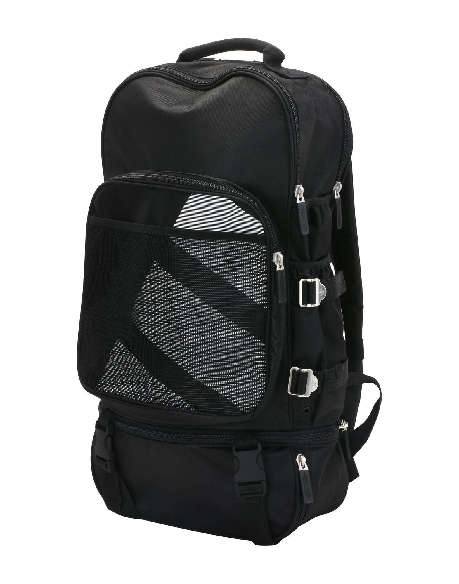 Adidas Originals Backpacks   Bum Bags in Black for Men - Lyst 3156b700de676
