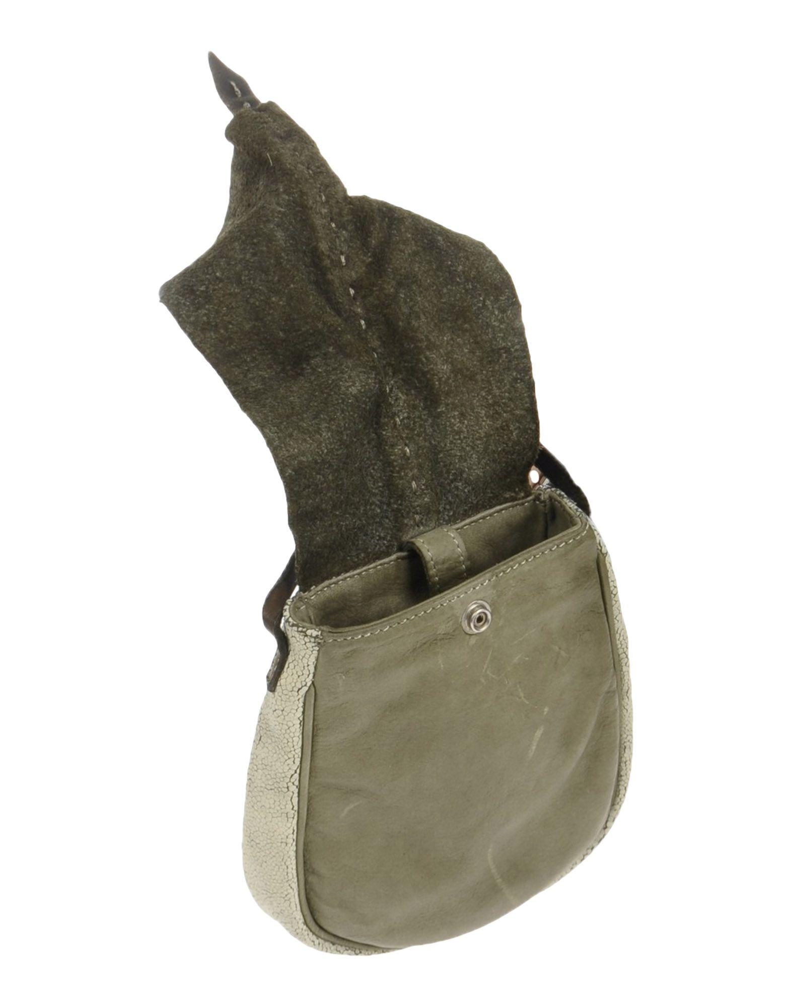 Caterina Lucchi Leather Cross-body Bag in Military Green (Green)