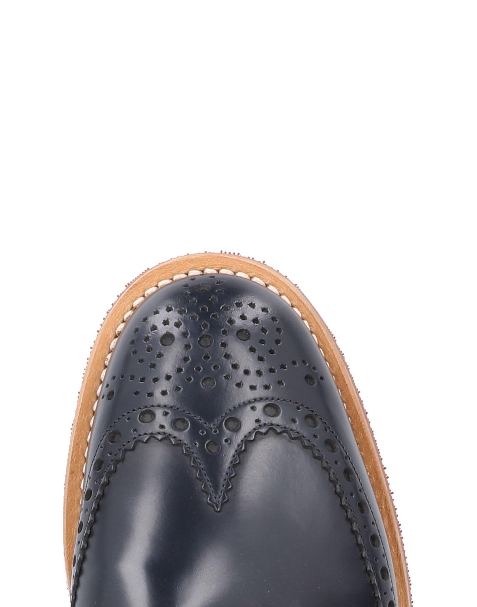 Church's Leather Loafer in Blue for Men